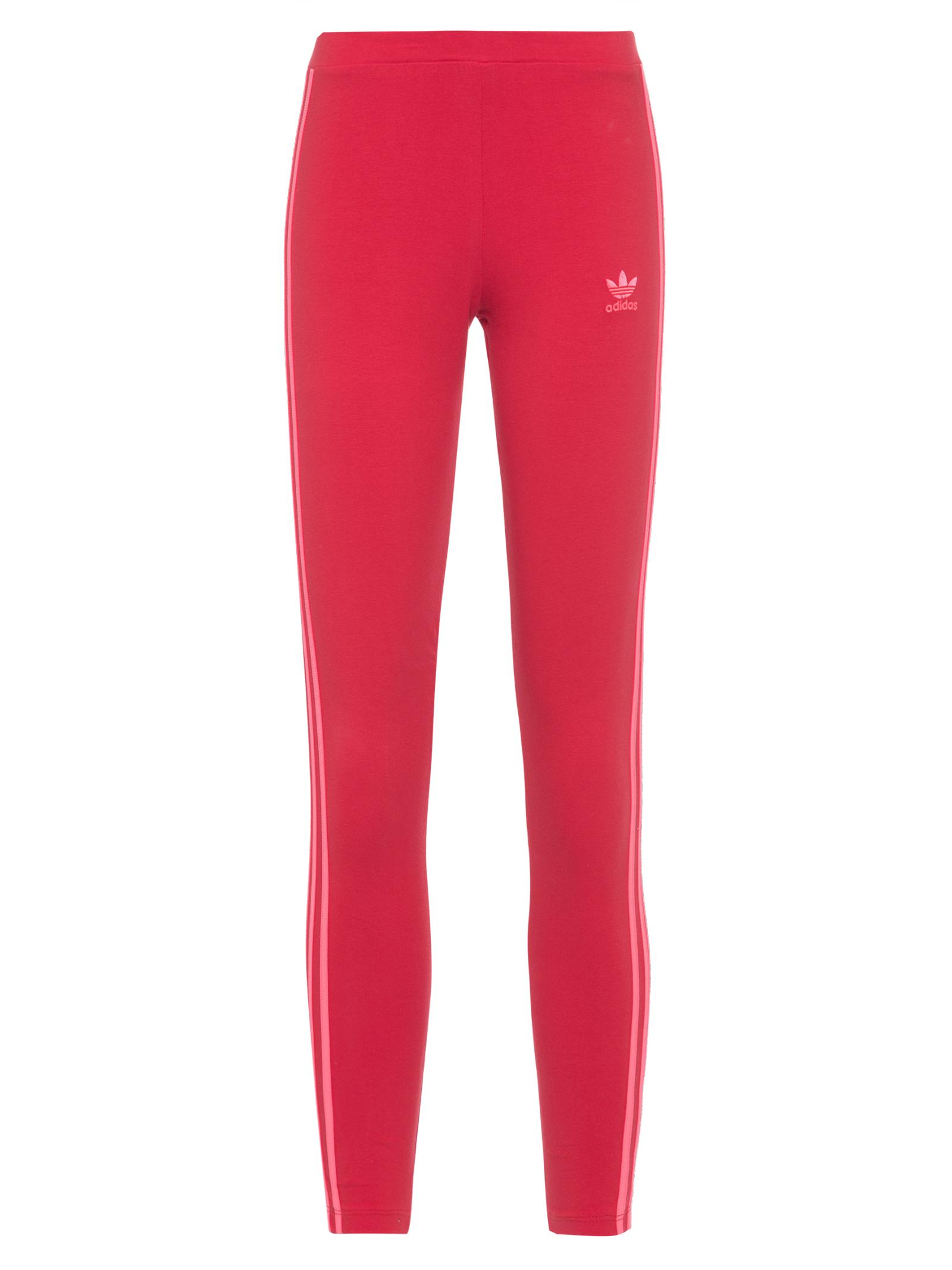 Calça Legging 3 Tiras - Vermelho