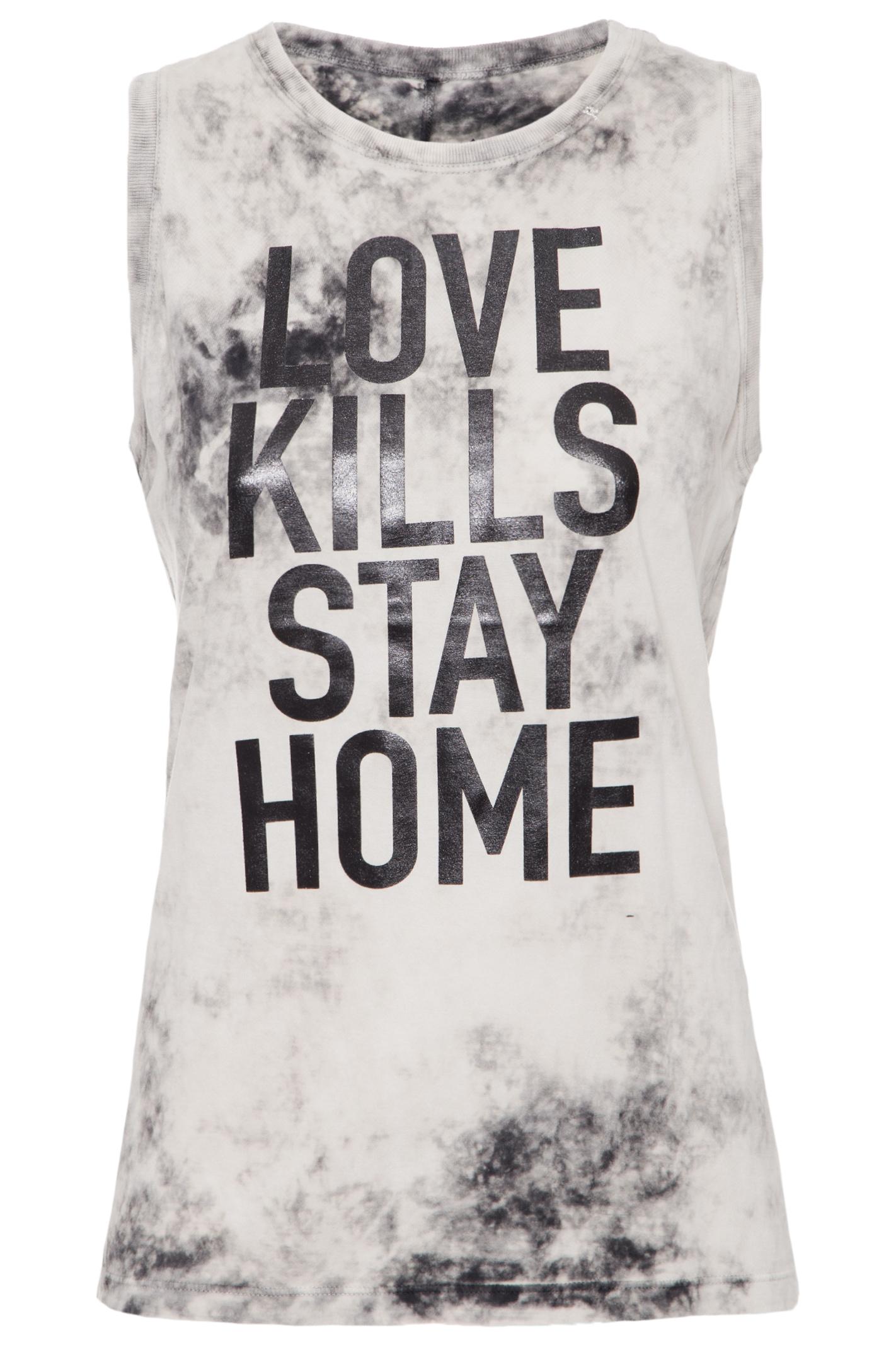 Regata Love Kills Tie Dye