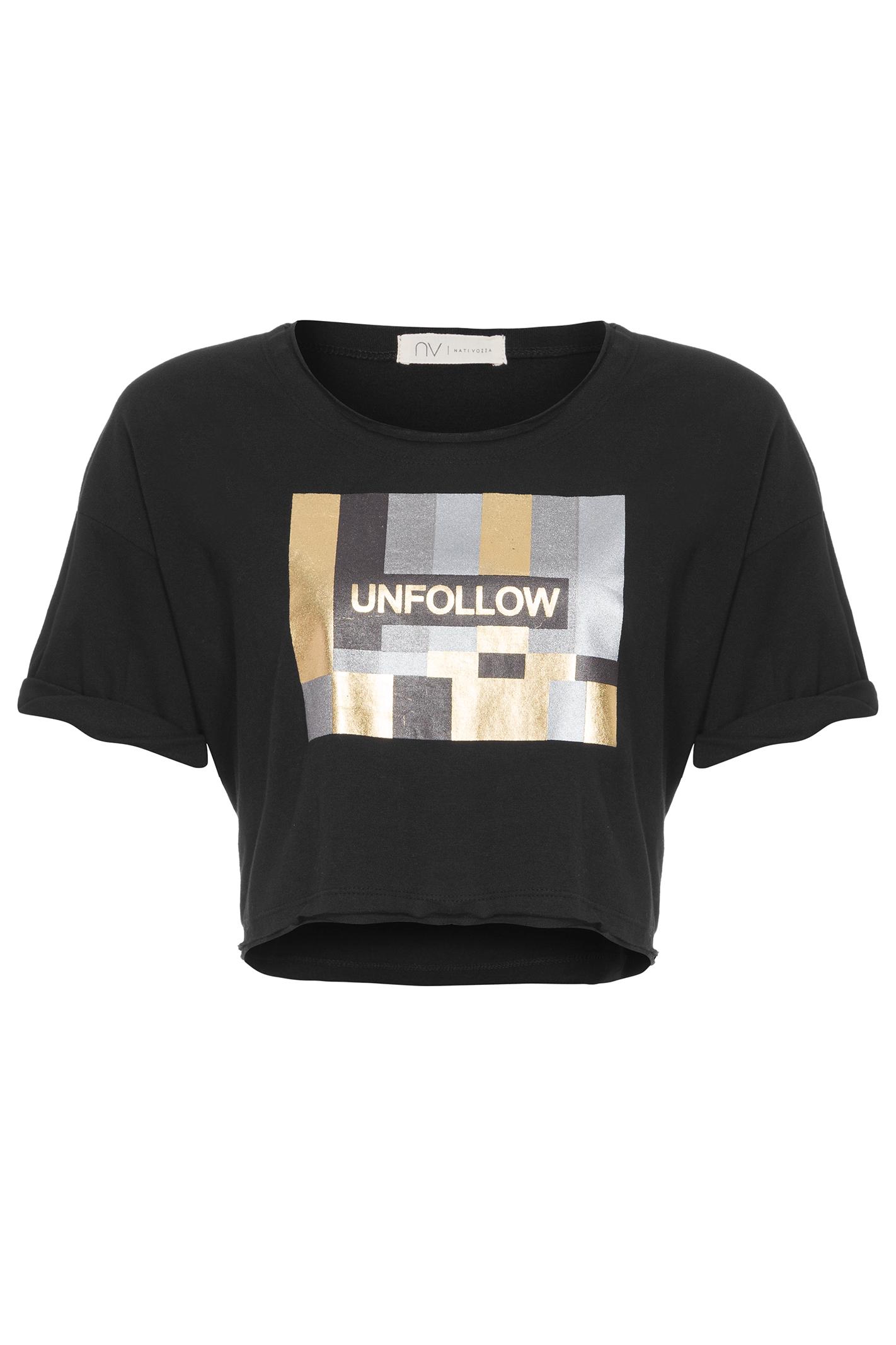 T-Shirt Unfollow