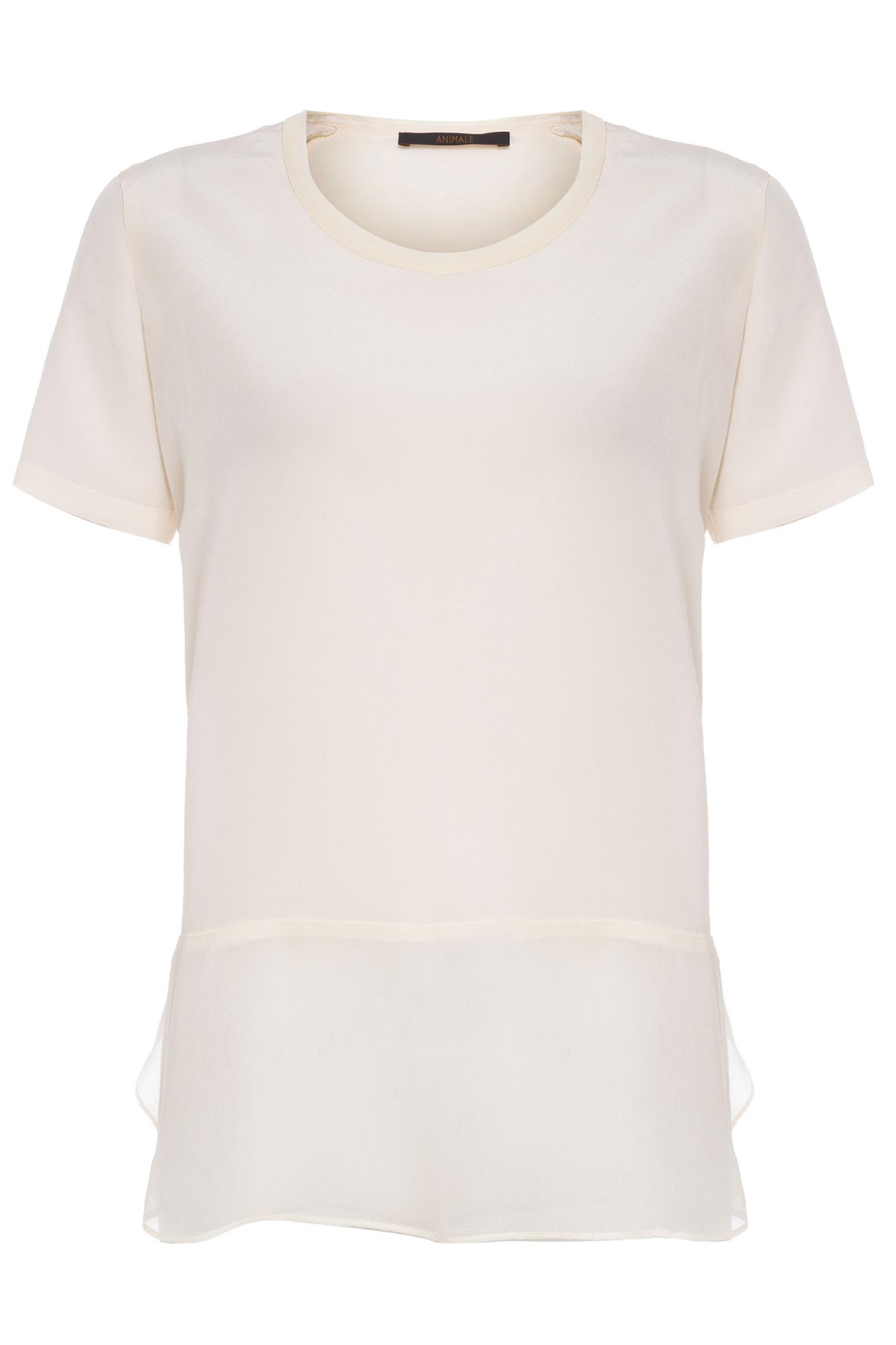 Blusa T-Shirt Mix Tecido
