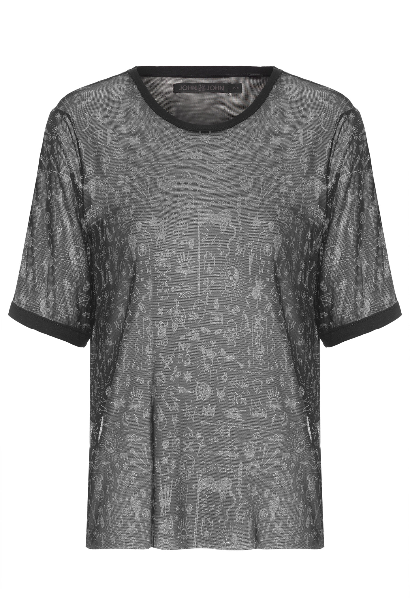 T Shirt Tule Full Print