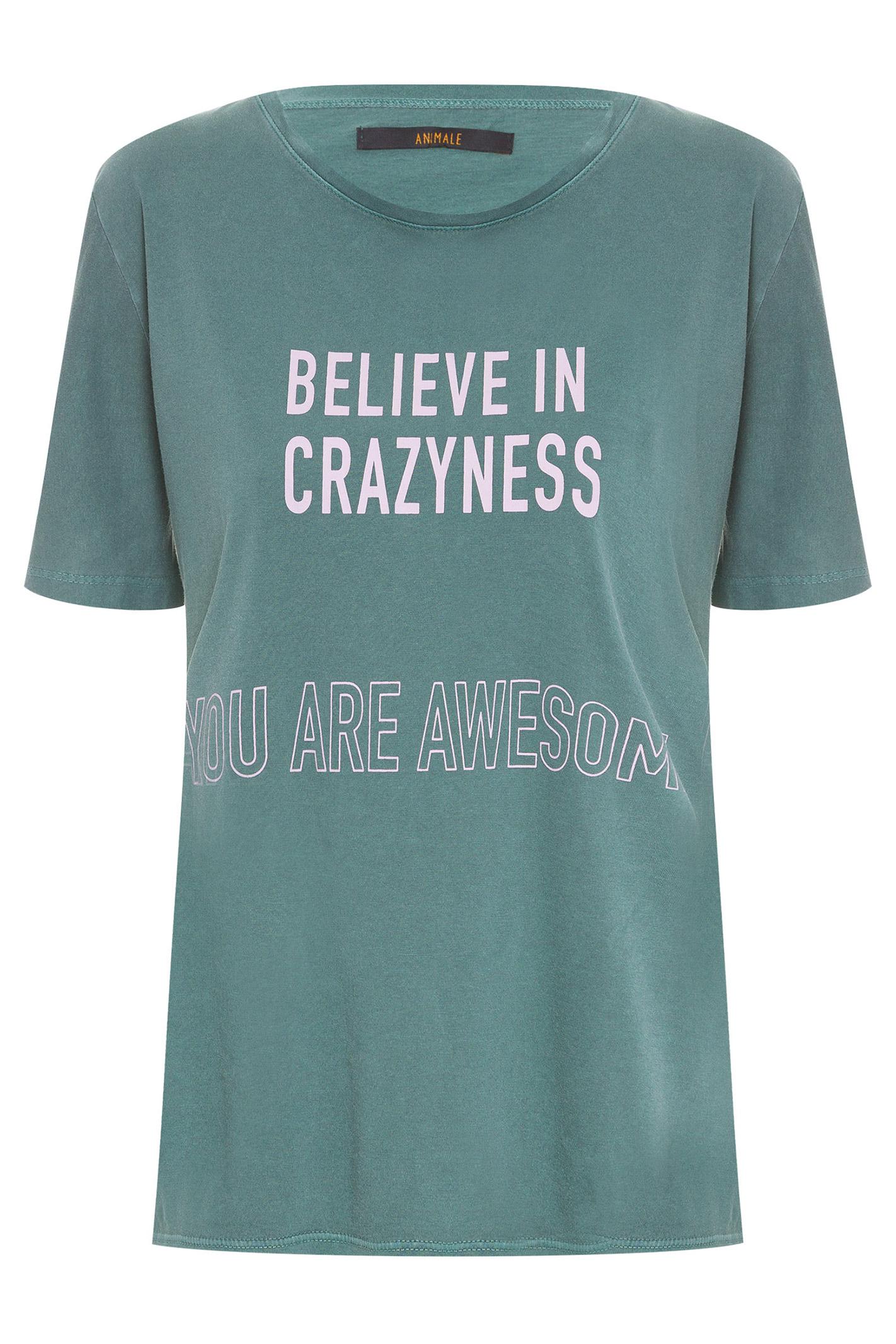 T-Shirt Believe Verde Pinho