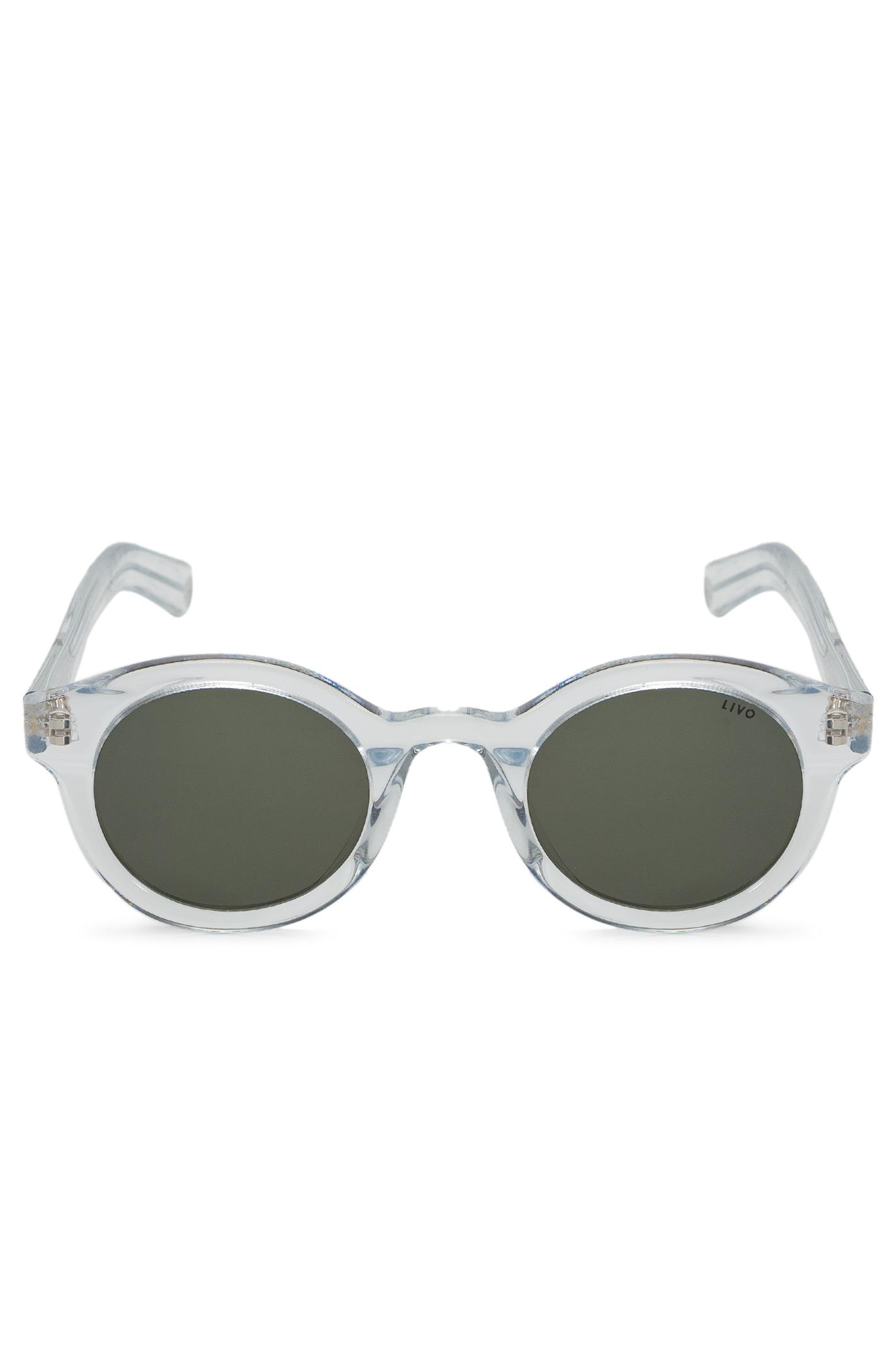 Óculos Louis Solar Cristal