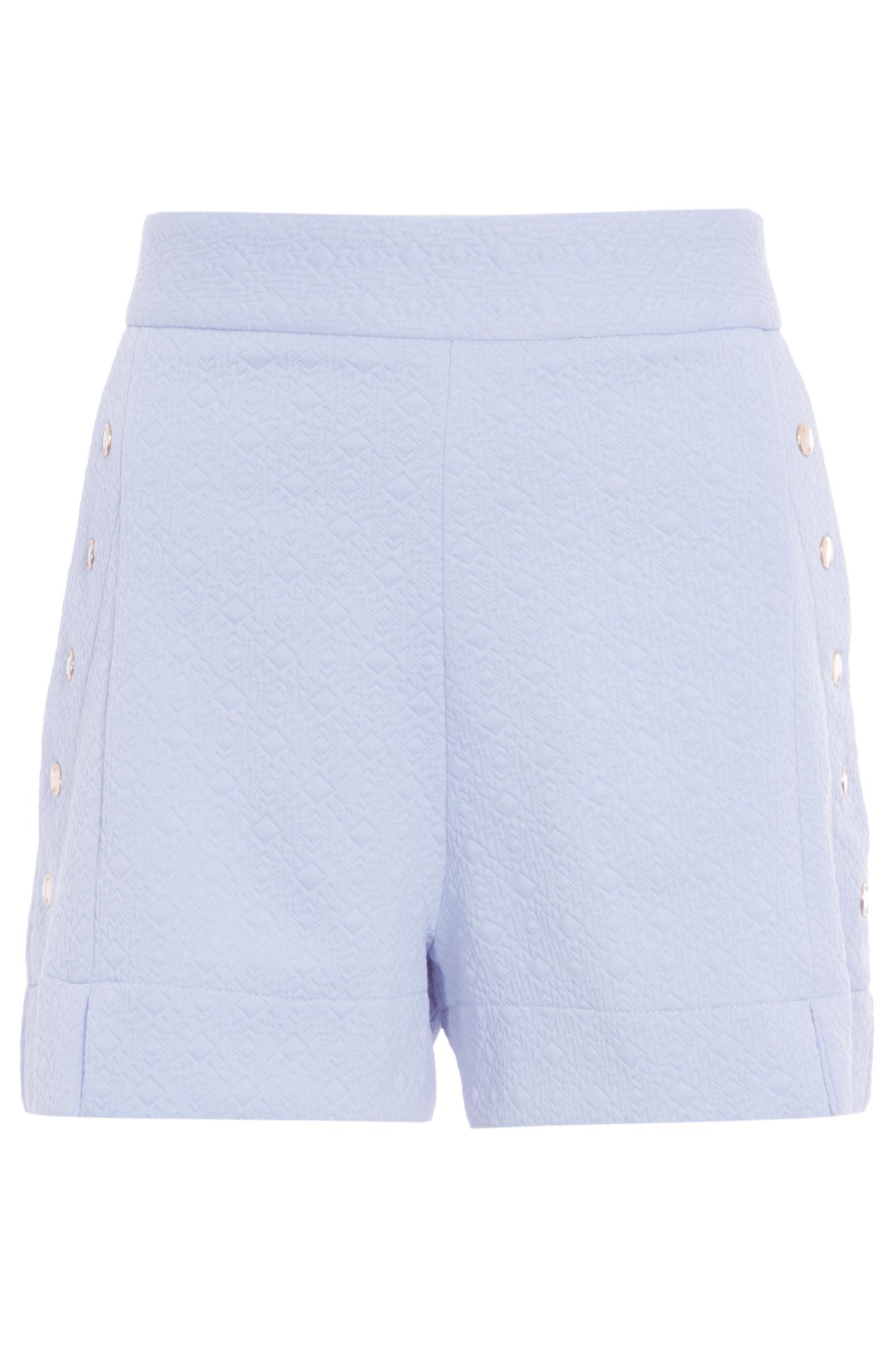 Shorts Botoes Jacquard