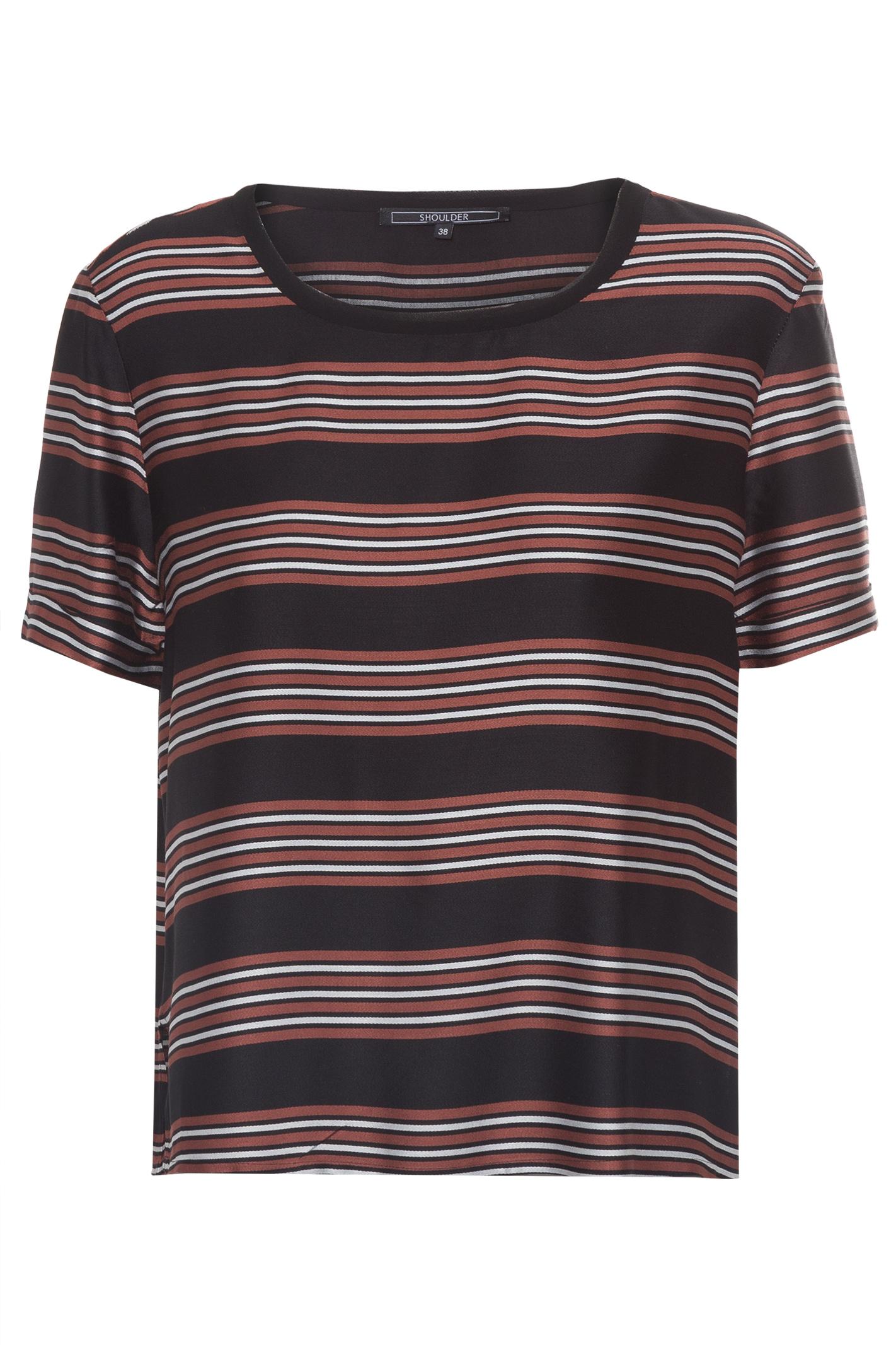 T-Shirt Viscose Listrada