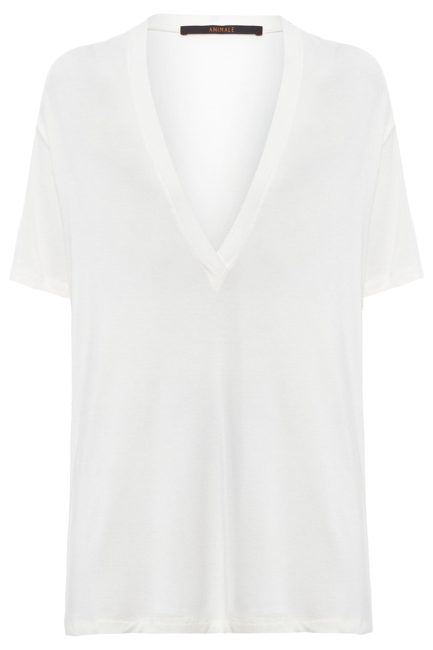 T-Shirt Decote Super V