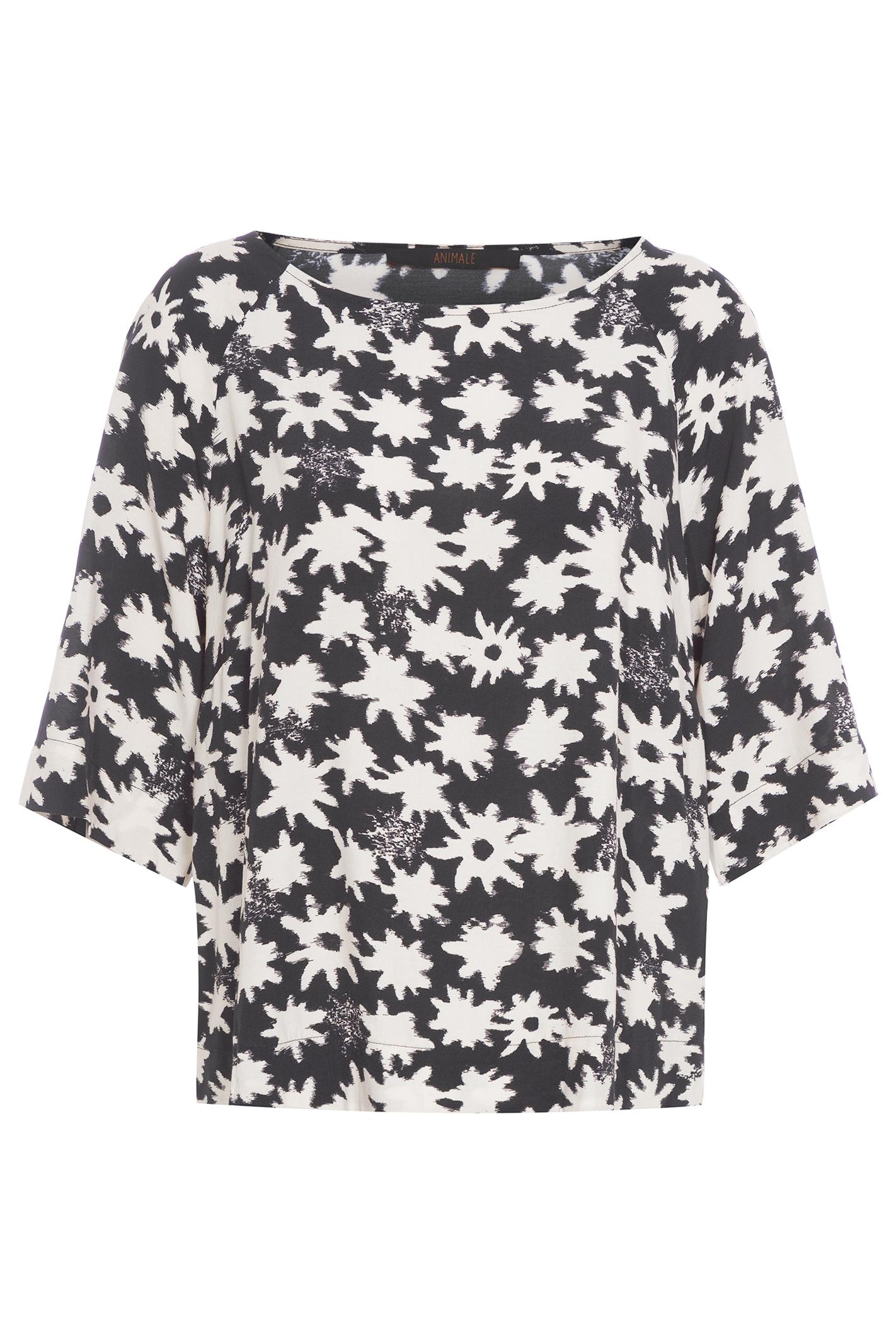 T Shirt Basica Flor Poua