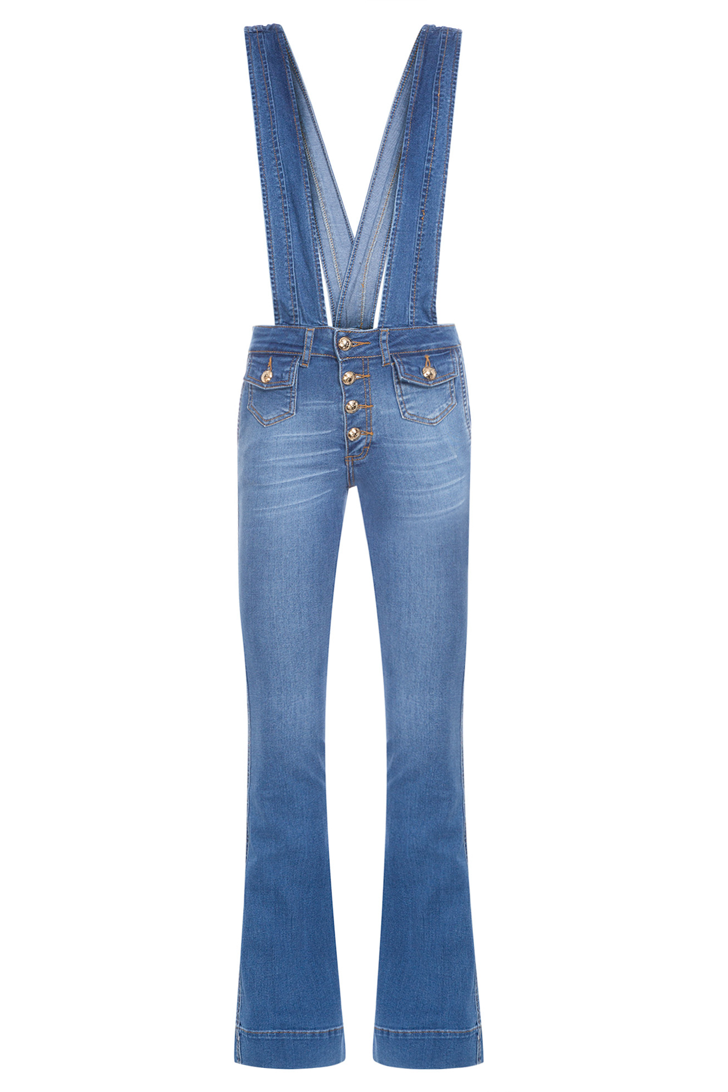 Macacão Jeans Detalhe