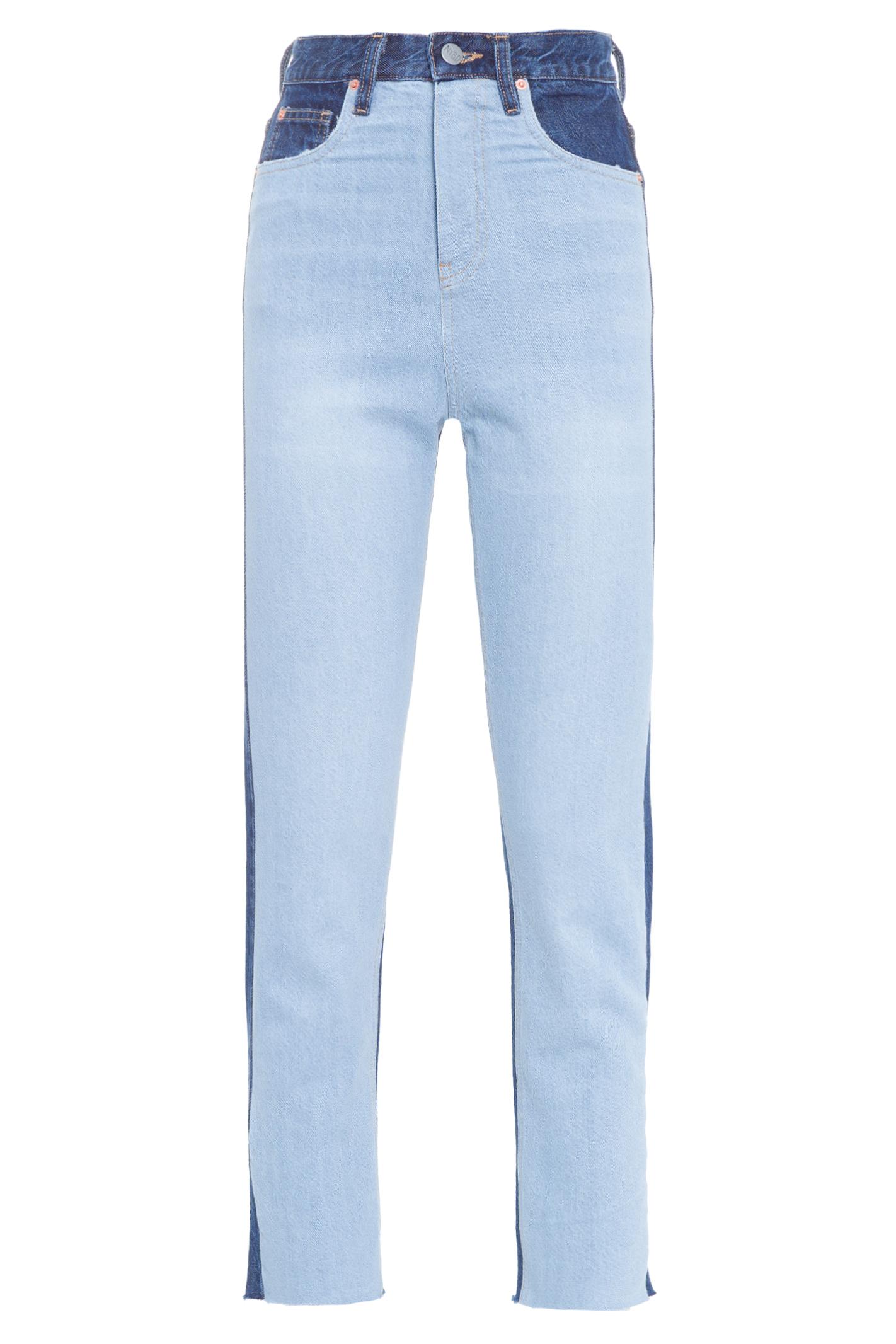 Calça Skinny Bicolor Jeans