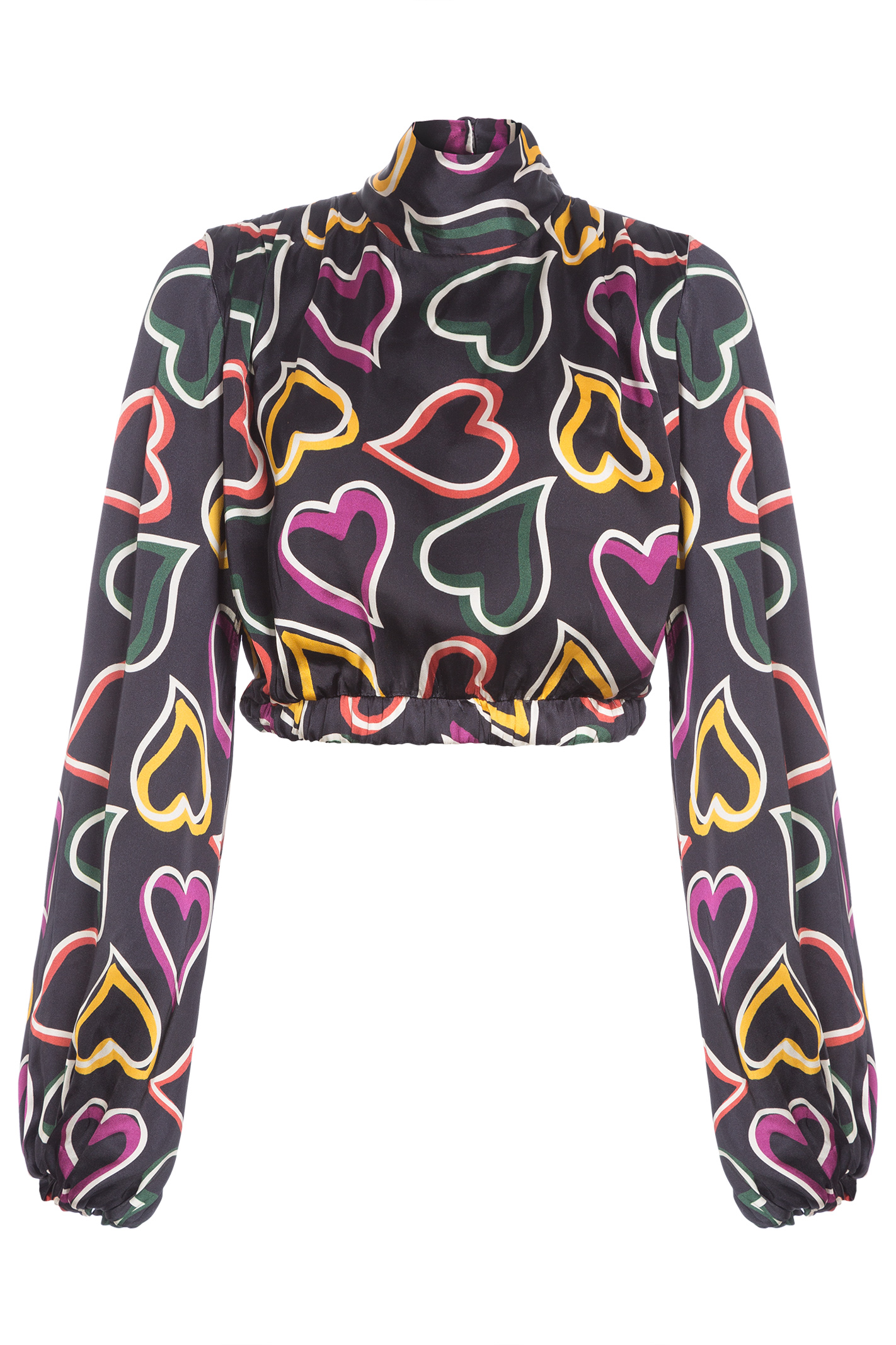 Blusa Funky Hearts