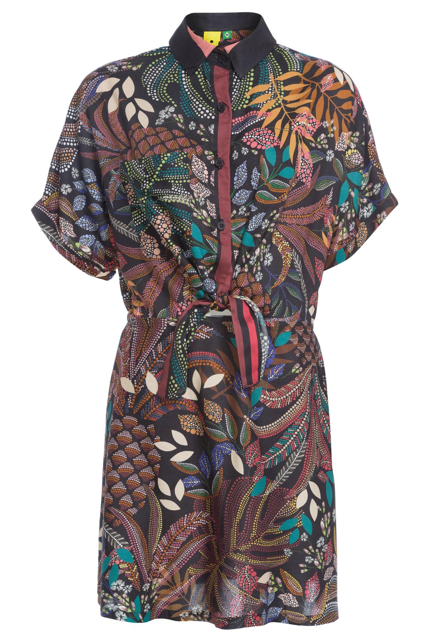 Vestido Floresta Delicada