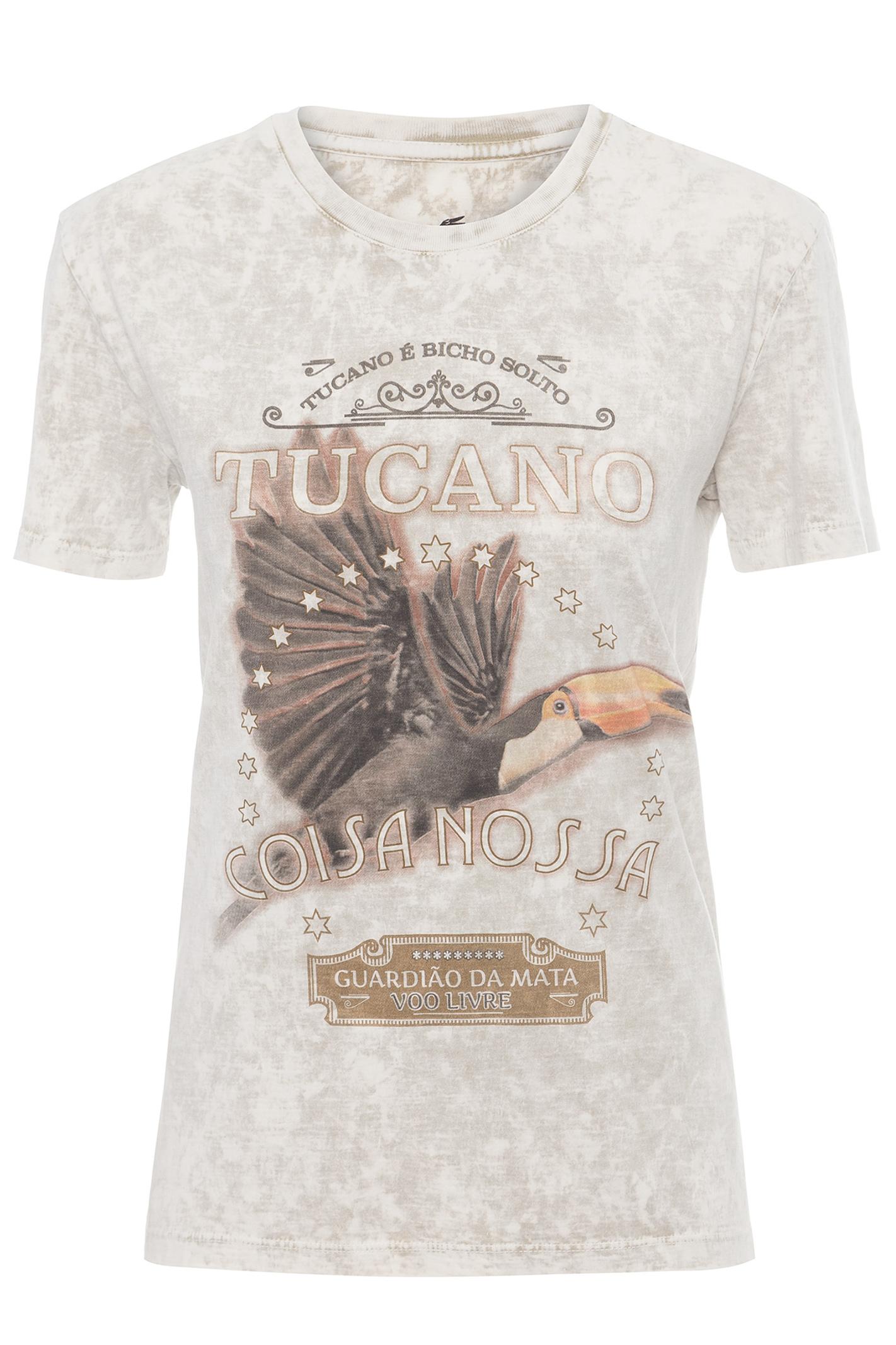 T-Shirt Vida Livre Tucano Coisa Nossa