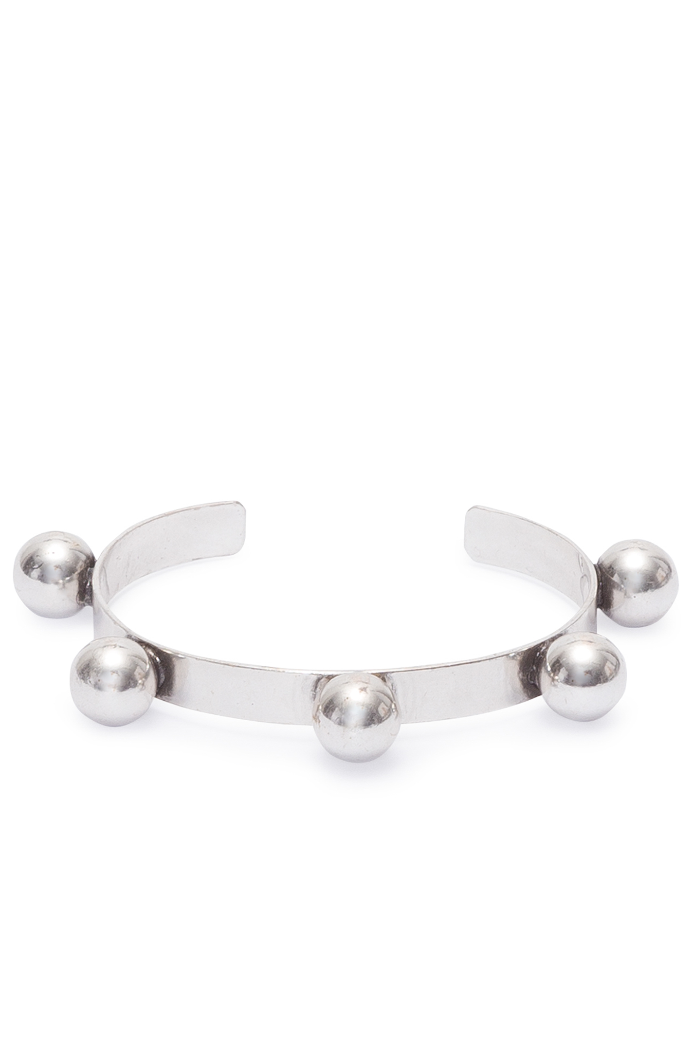 Bracelete Esferas - Prata Velho