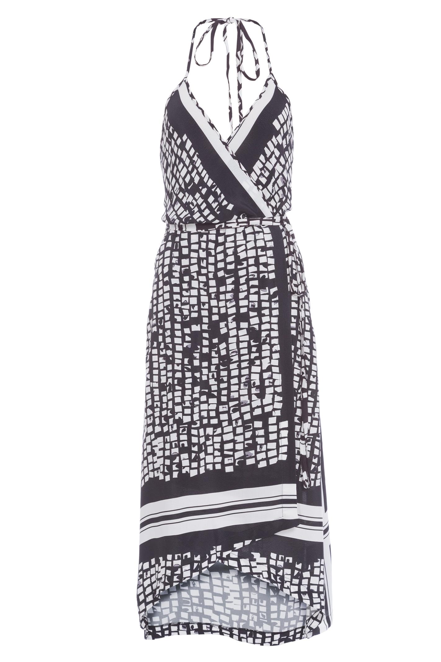 Vestido Midi Lenco Lusiana