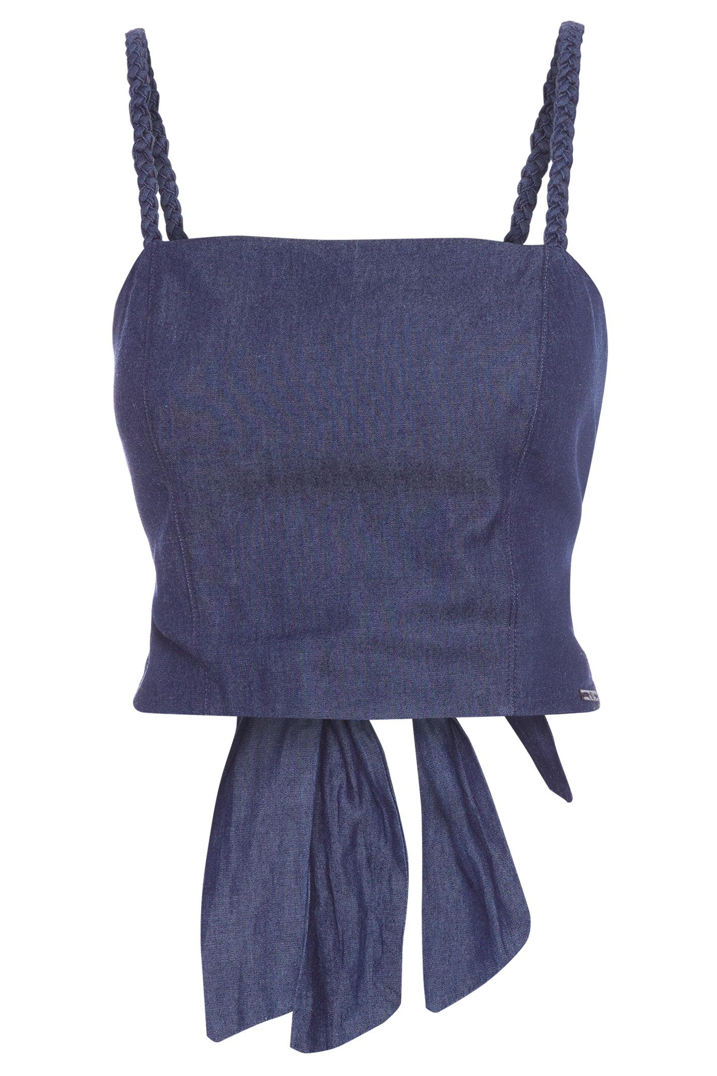 Top Jeans Alca Trancada Blue