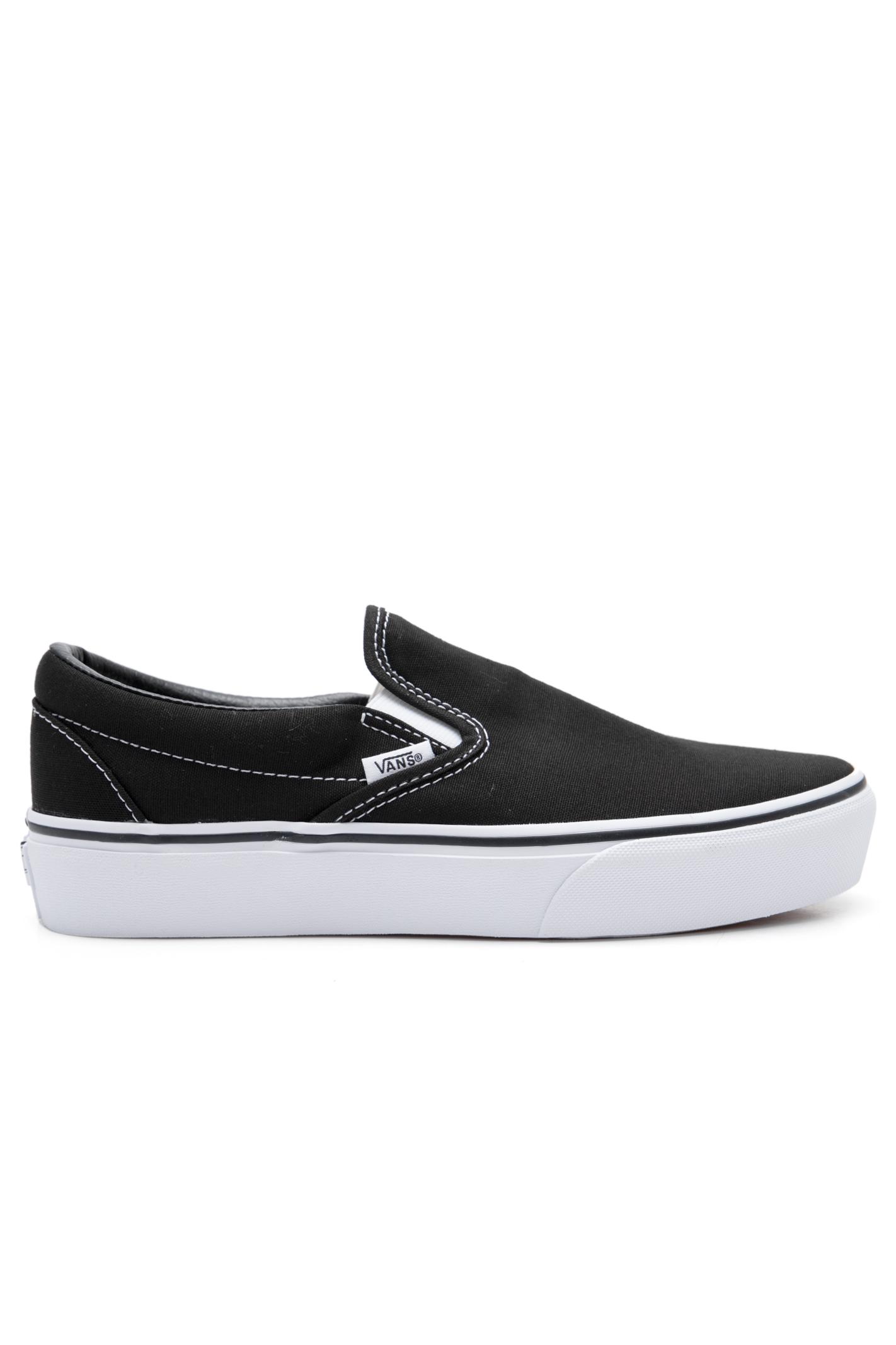 Tênis Ua Classic Slip-On Platform Black