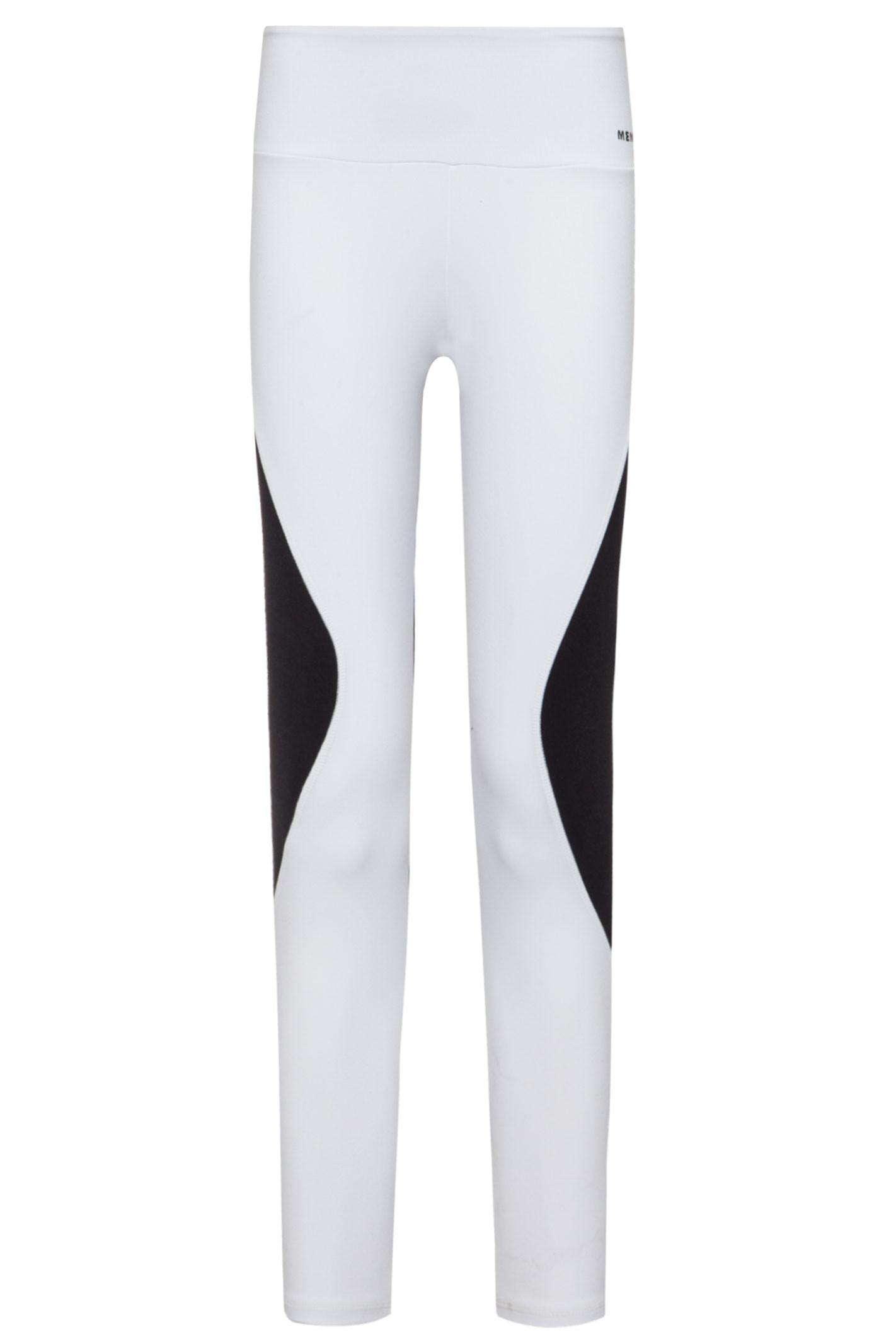 Calça Legging 7/8 Recortes - Branco