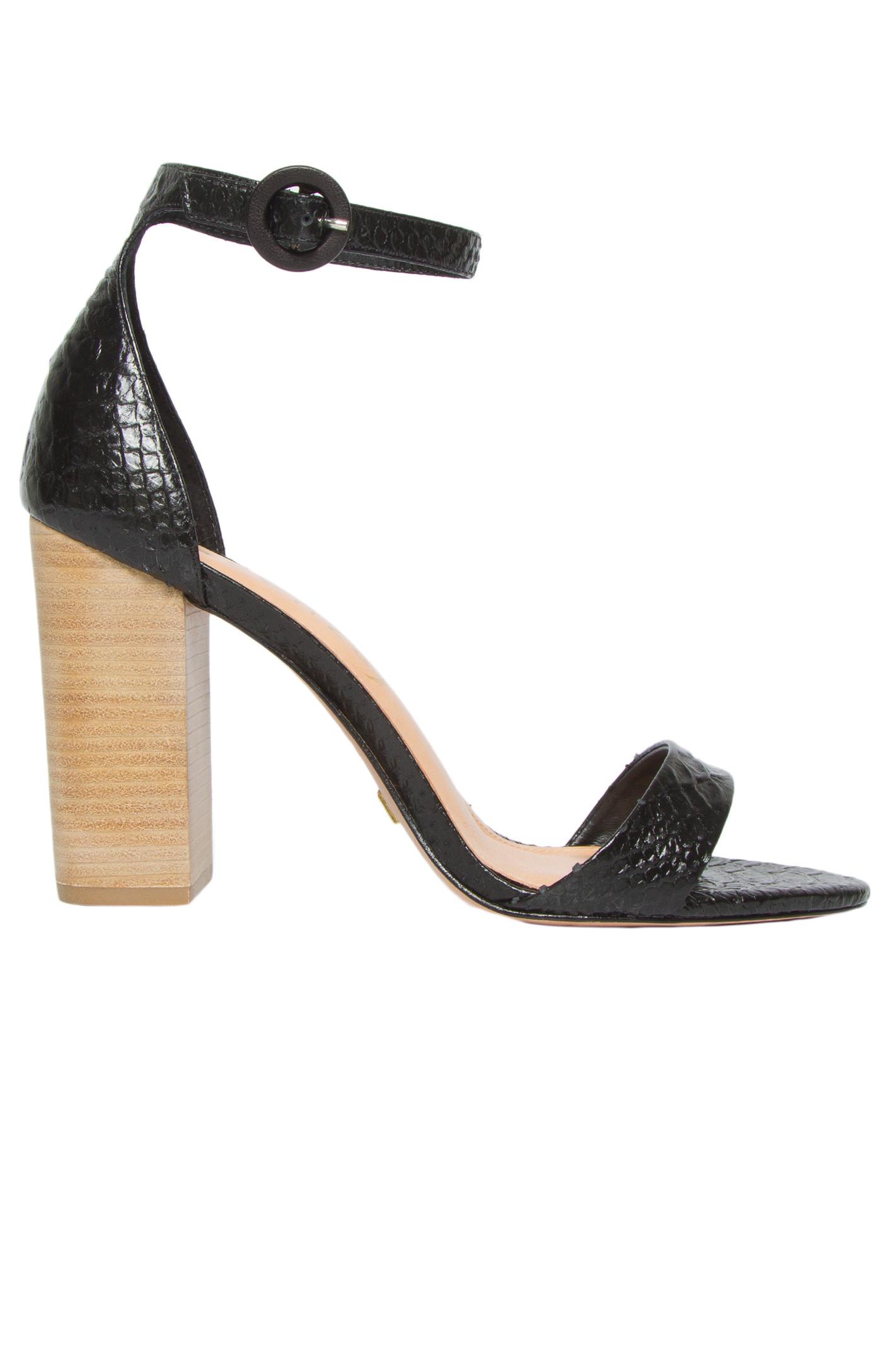 Sandália Python - Preto