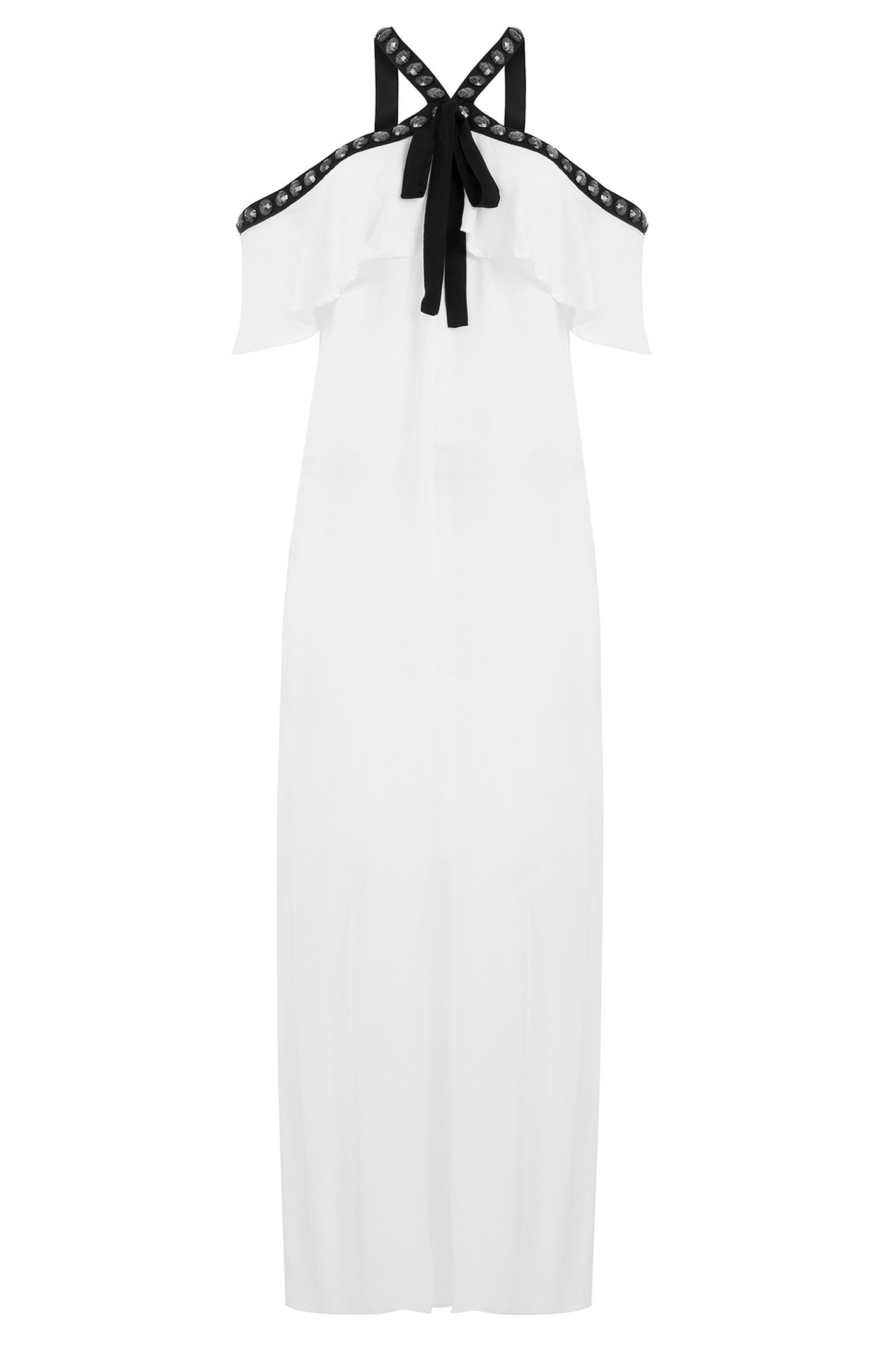 Vestido Longo Venice - Branco