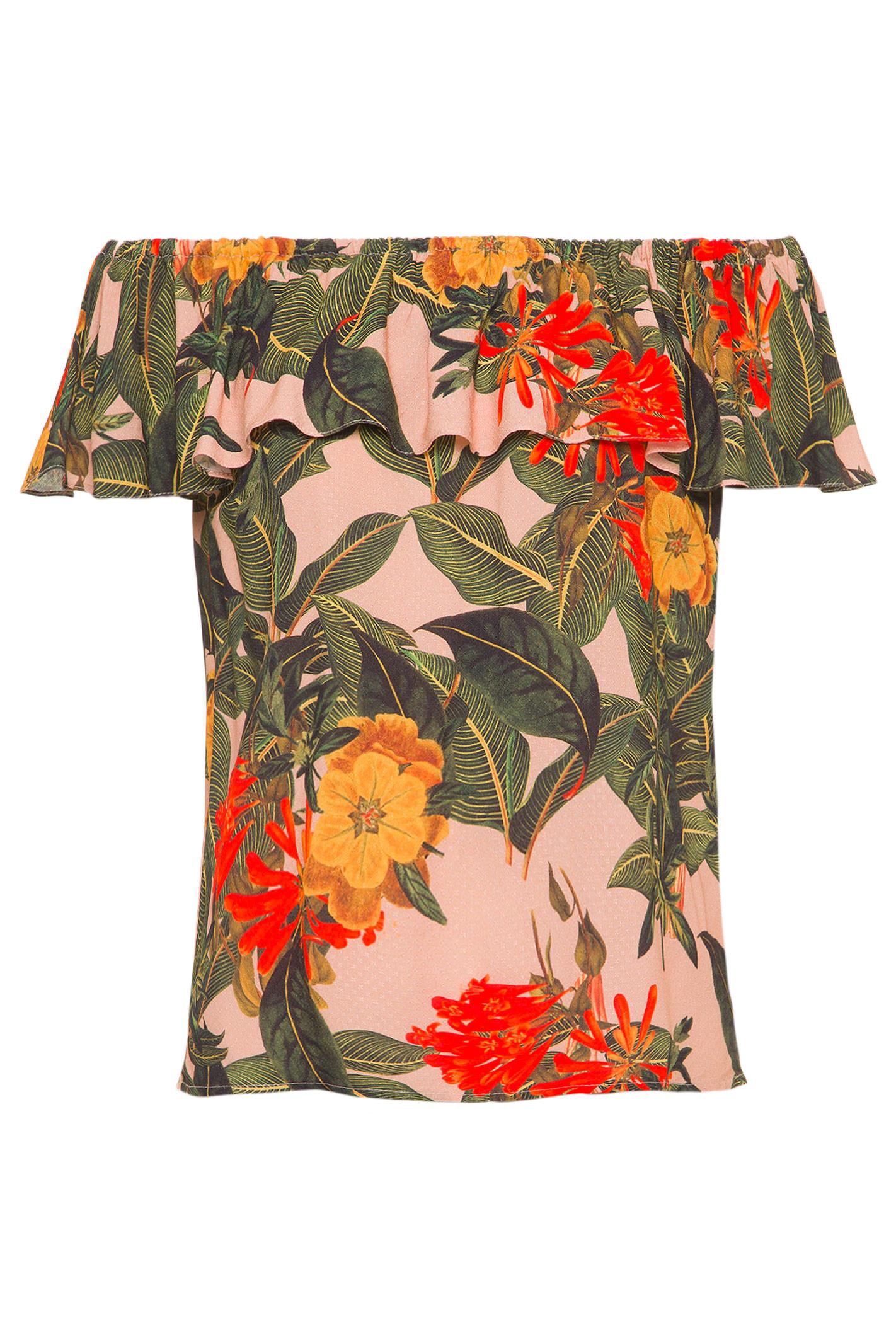 Blusa Ombro A Ombro Caribe - Verde
