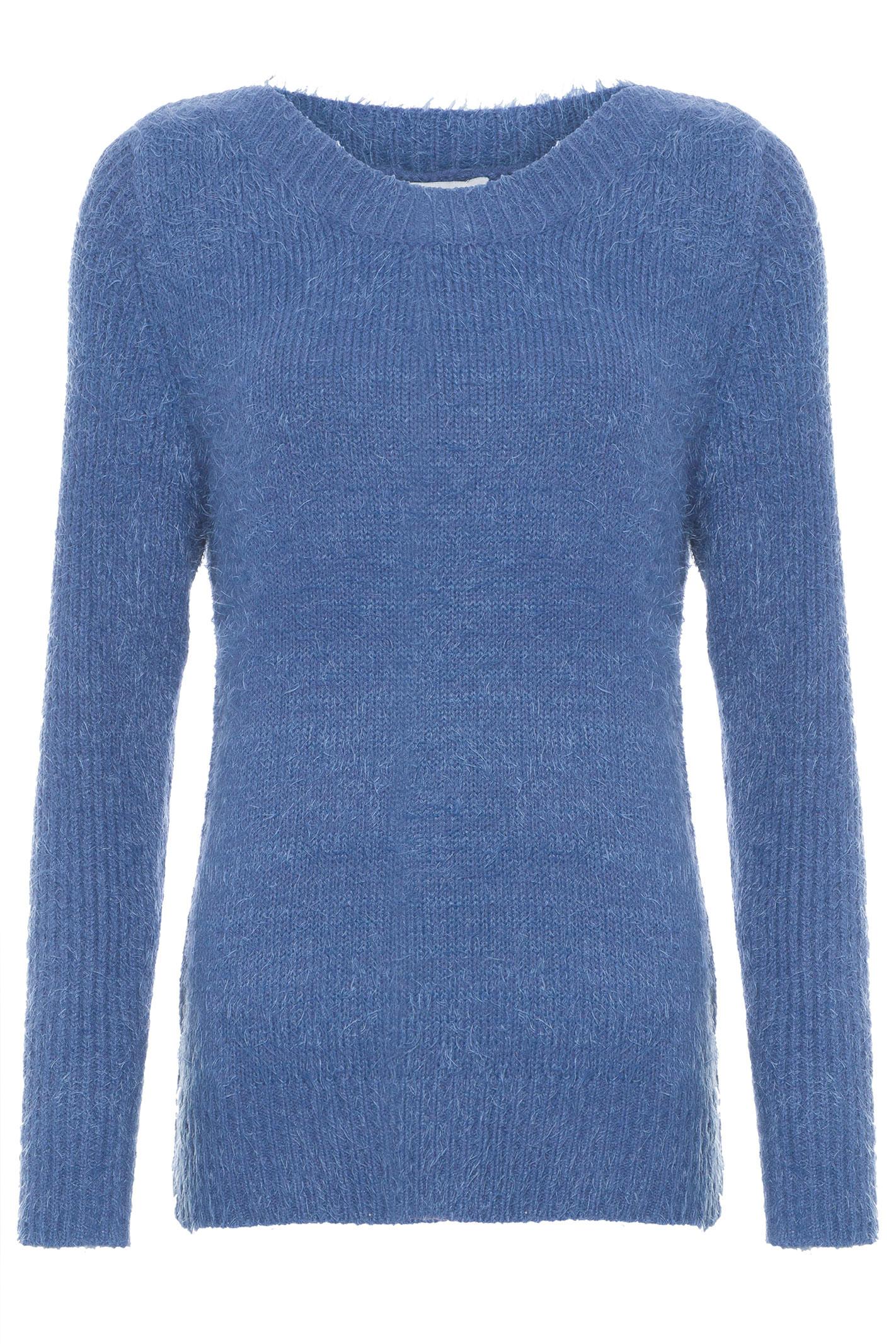 Suéter Pelo Curto - Azul