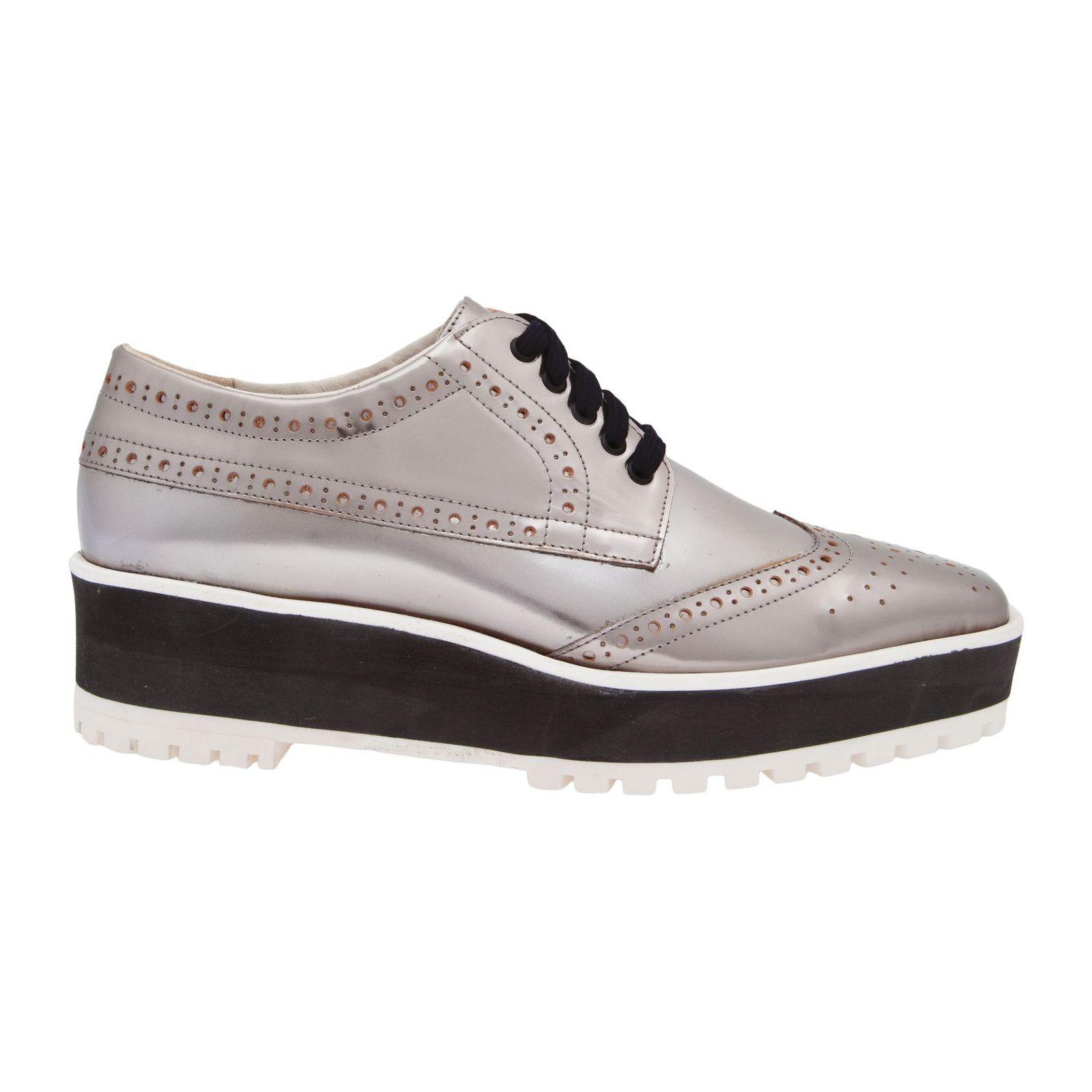 Oxford Flatform Silver - Prata