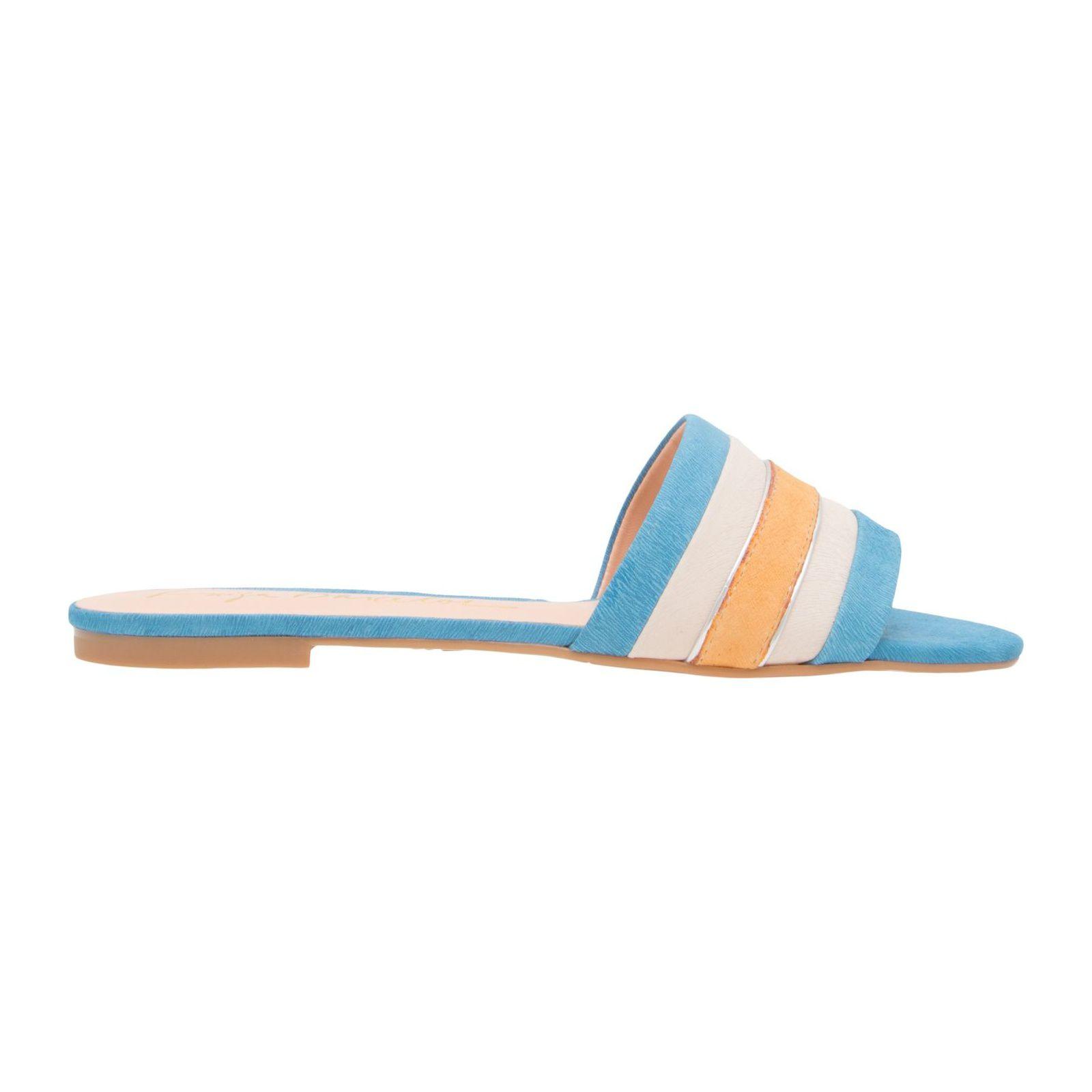 Sandália Rasteira Lince - Azul