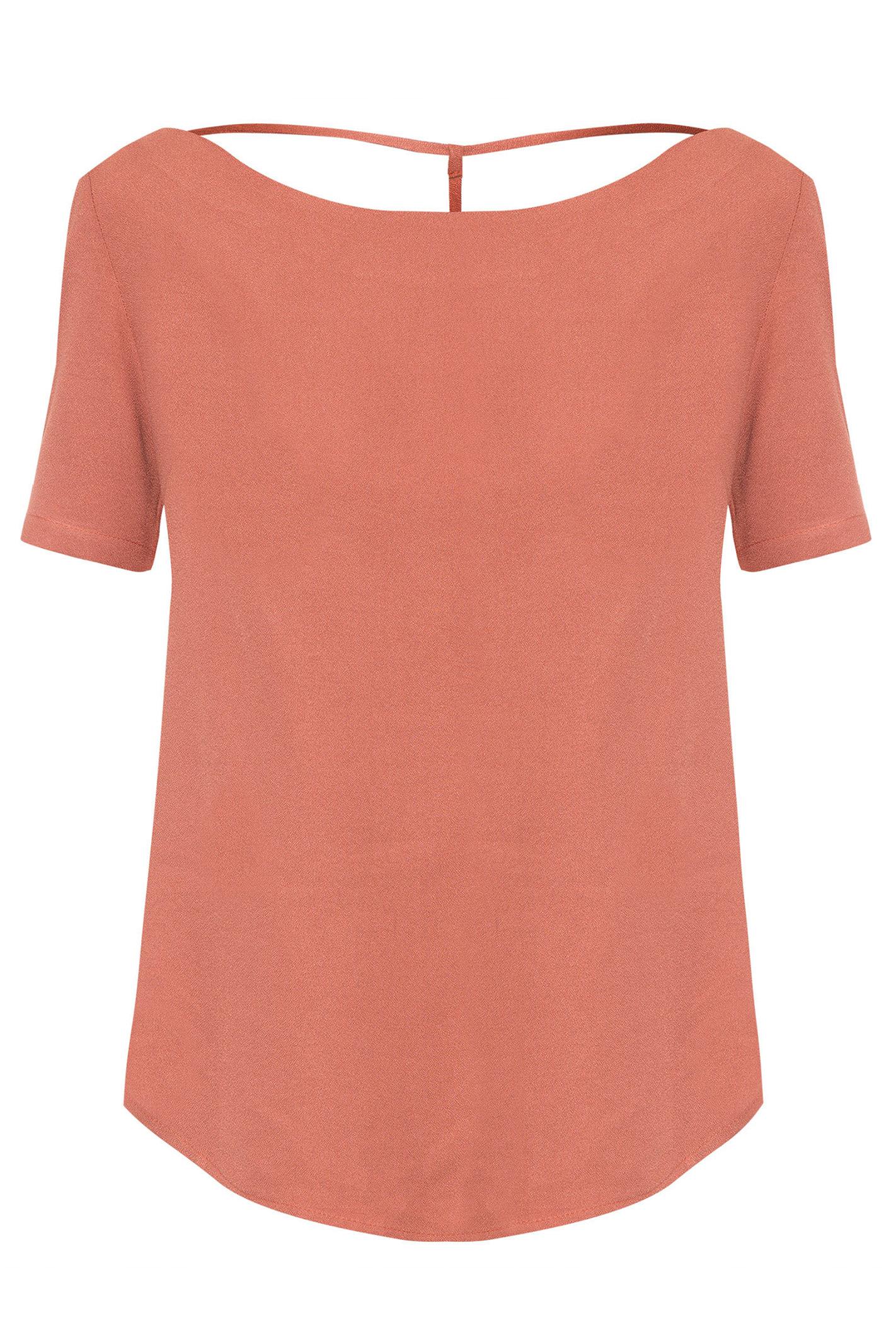 T-Shirt Decote V Costas