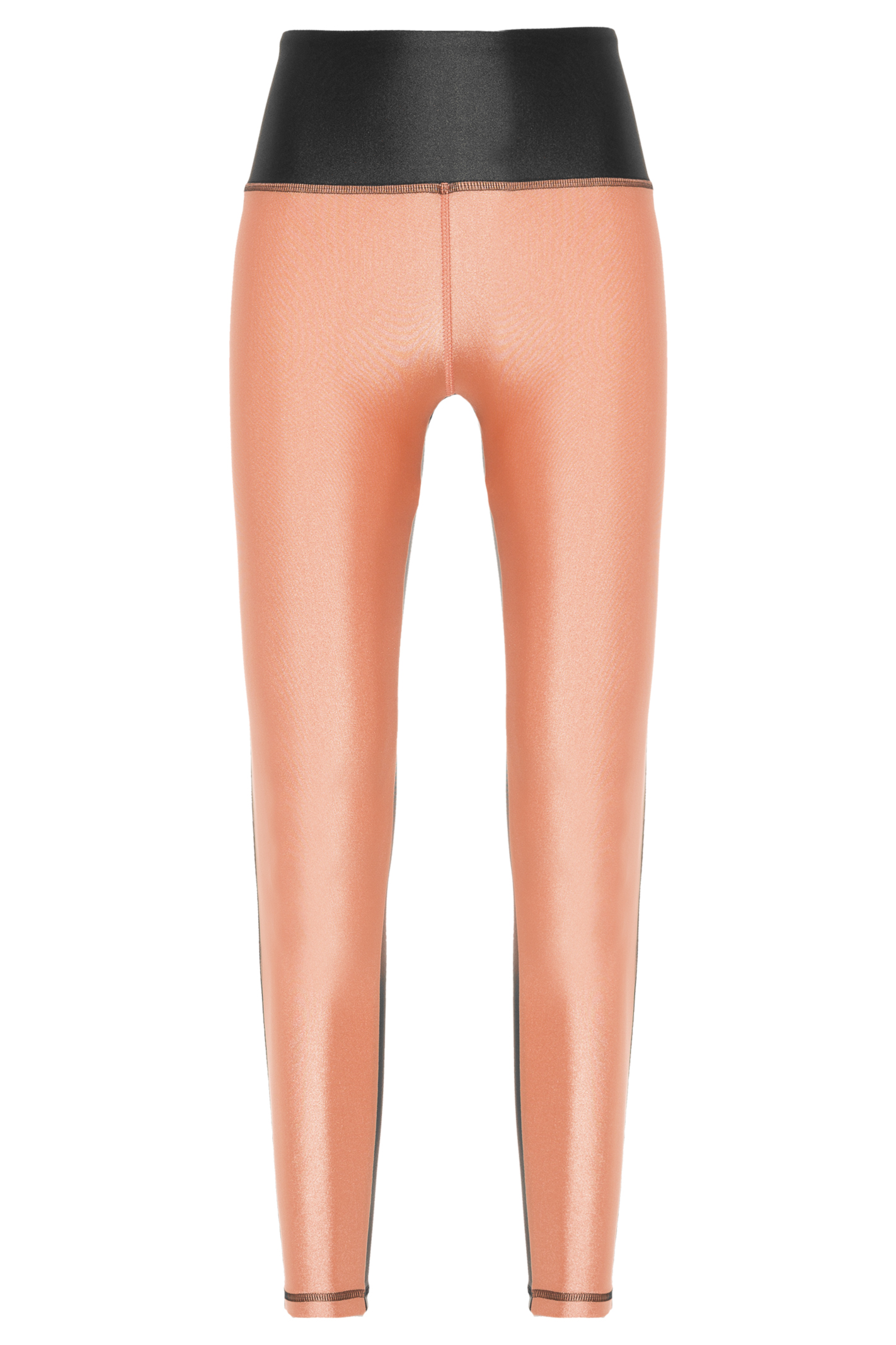 Wf1611 Legging Elegance Preto/ Ouro Rosa