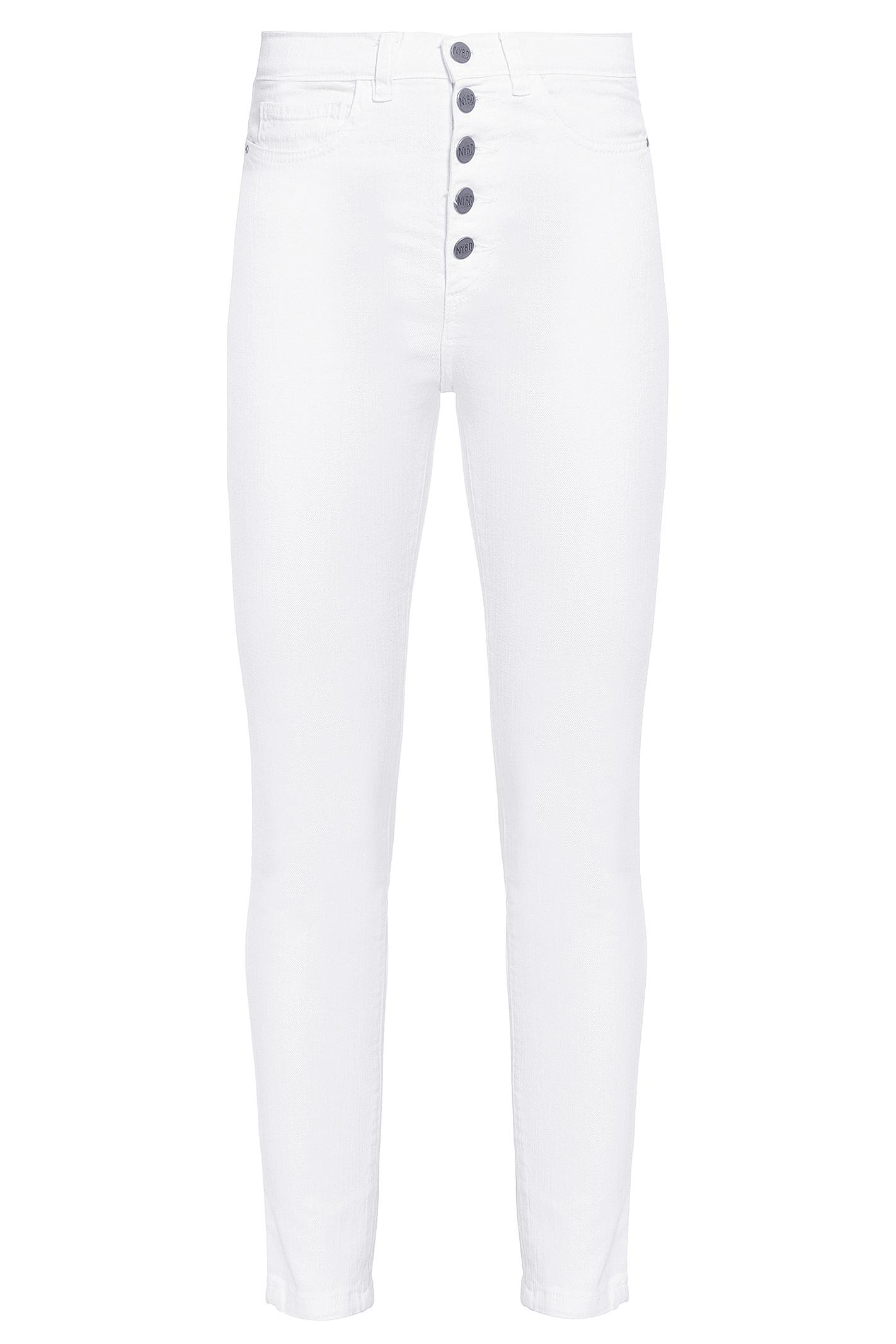 Calça Skinny 5 Botões Branca