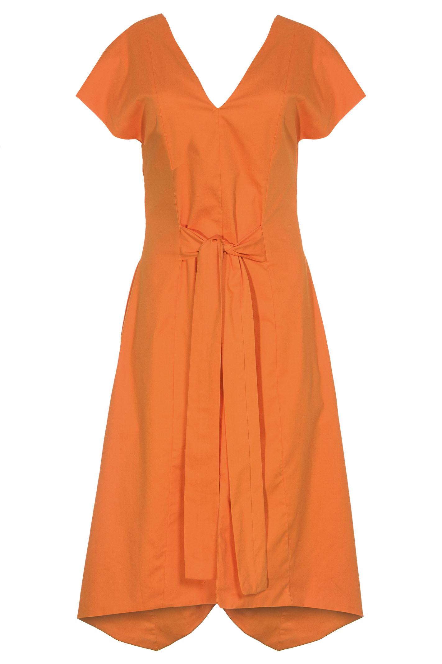 Vestido Recorte V