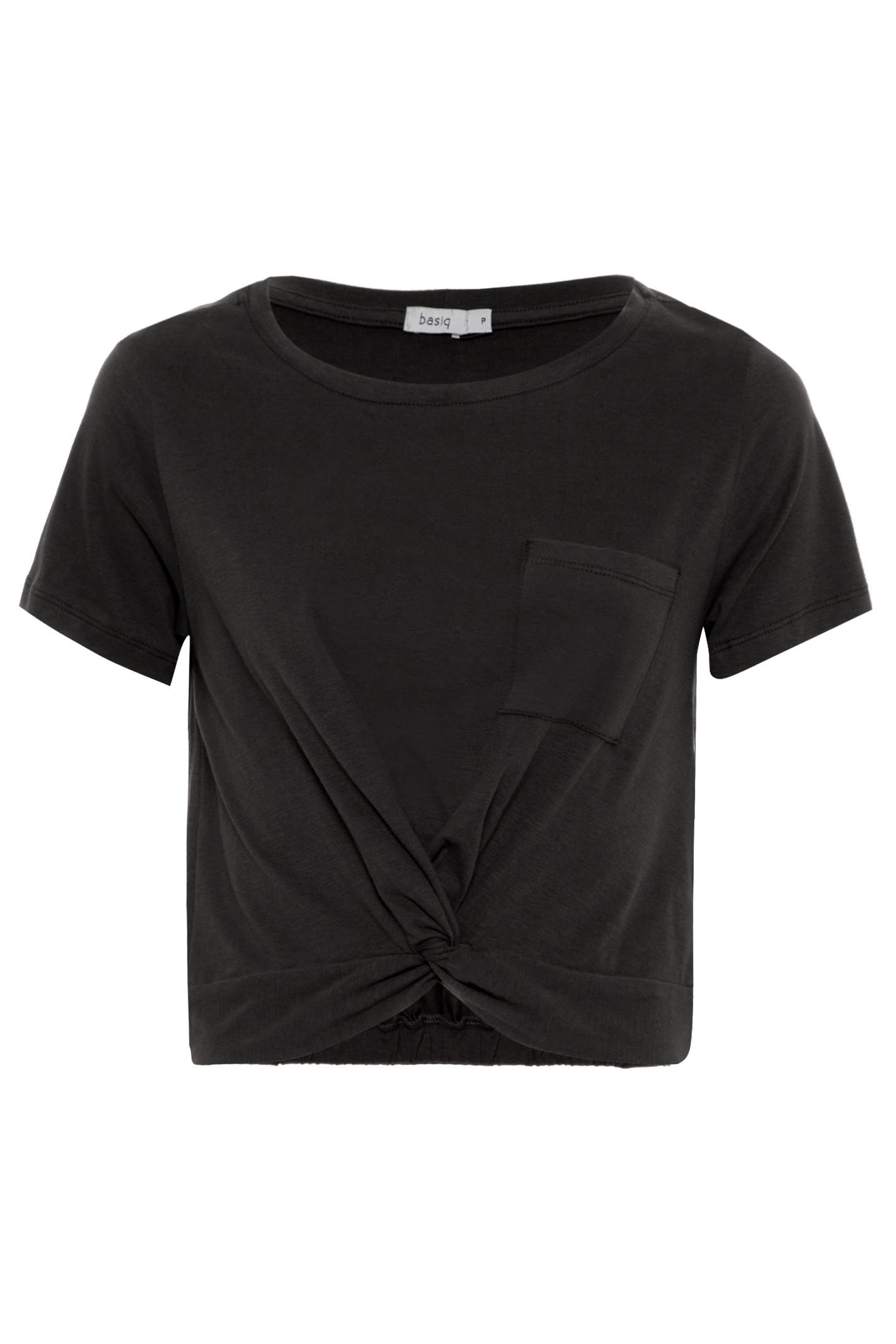 T-Shirt Torção - Preto