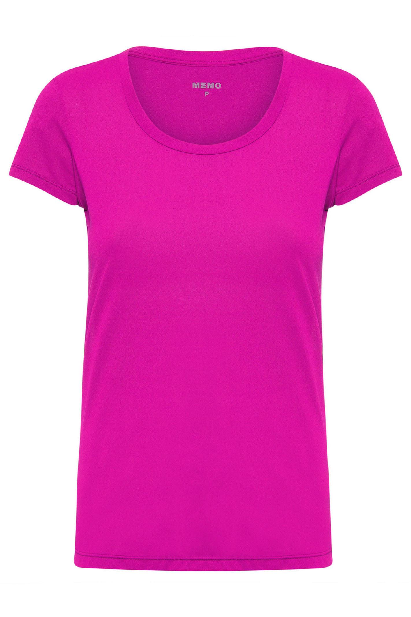Camiseta Mc Color - Rosa