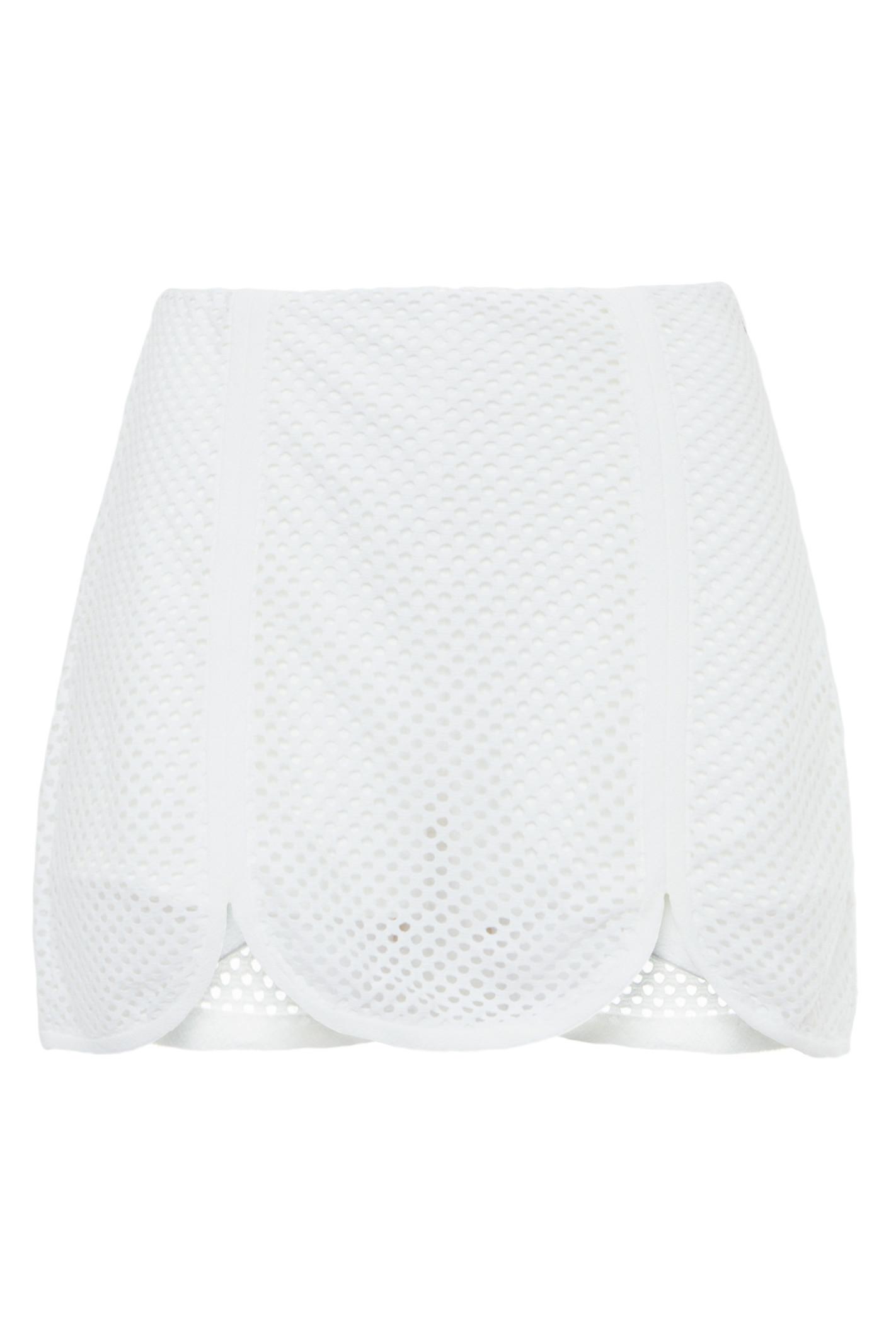 Short Saia Tela - Off White