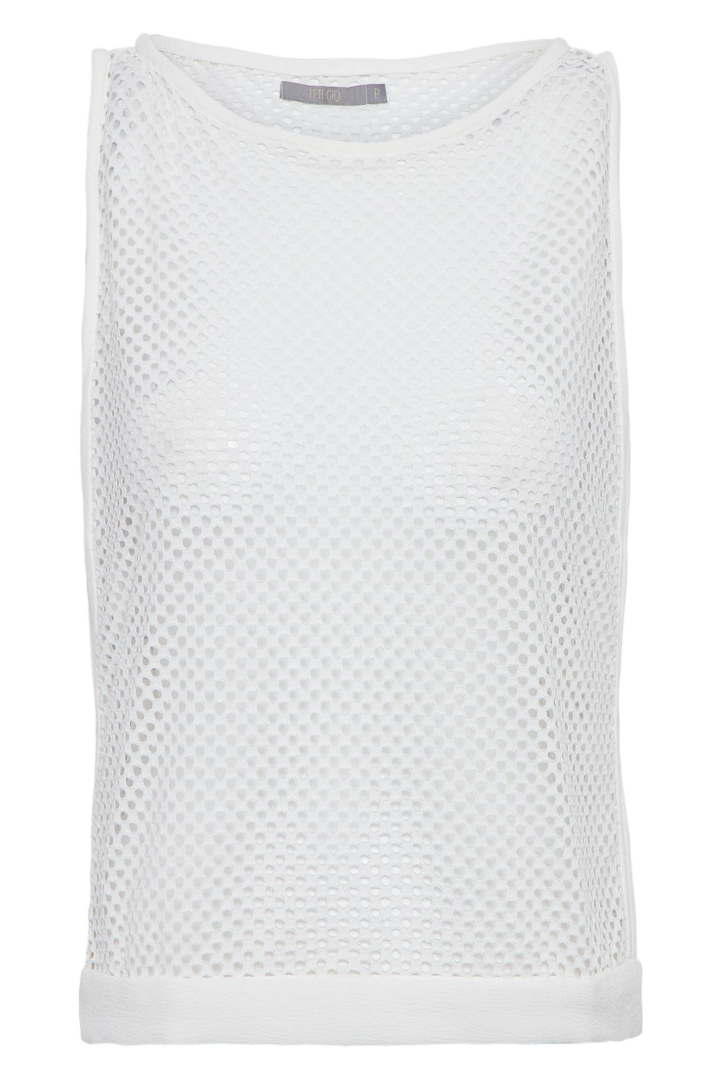 Regata Furadinha - Branco