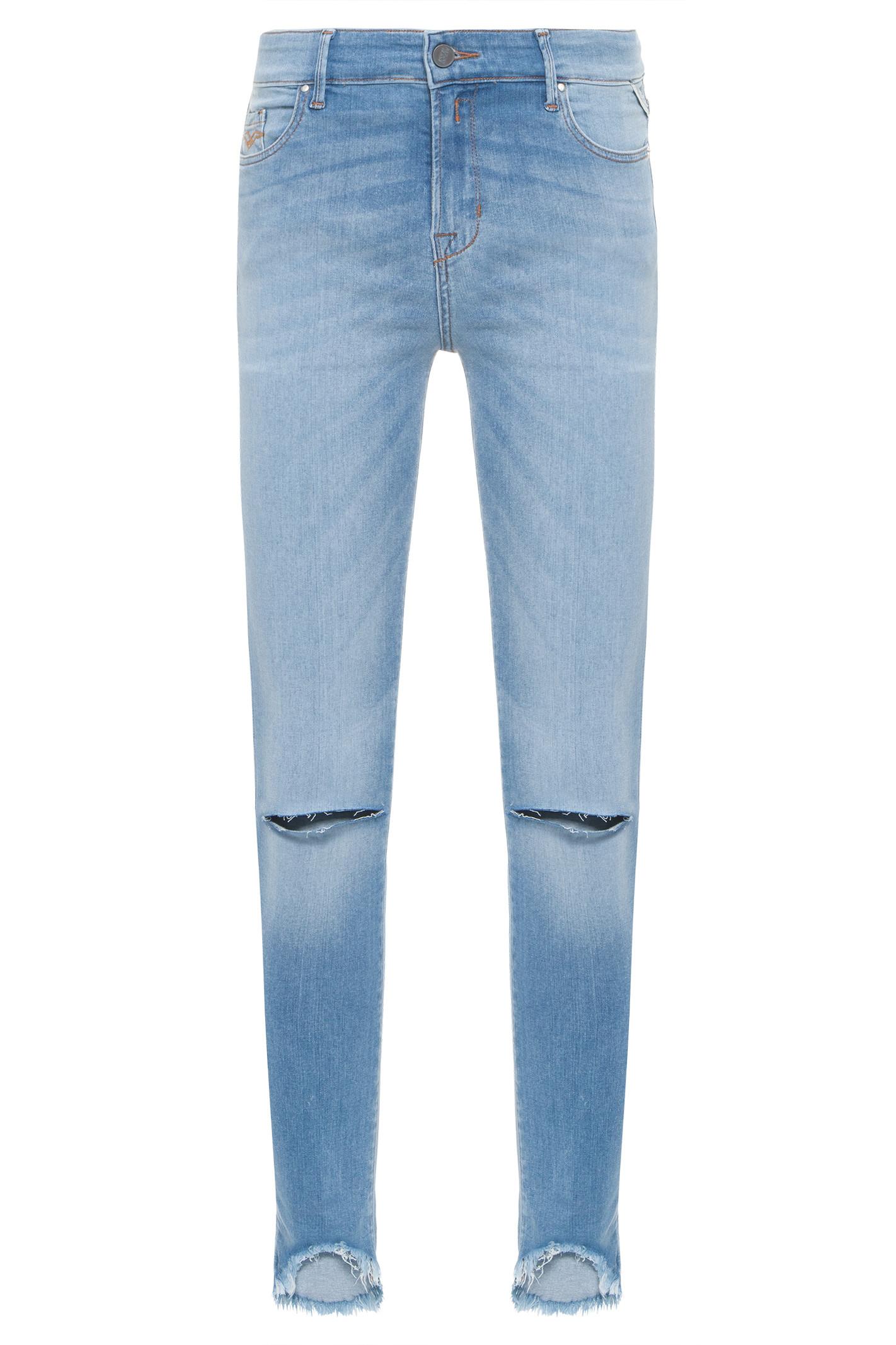 Calça Jeans Luz Skinny - Azul