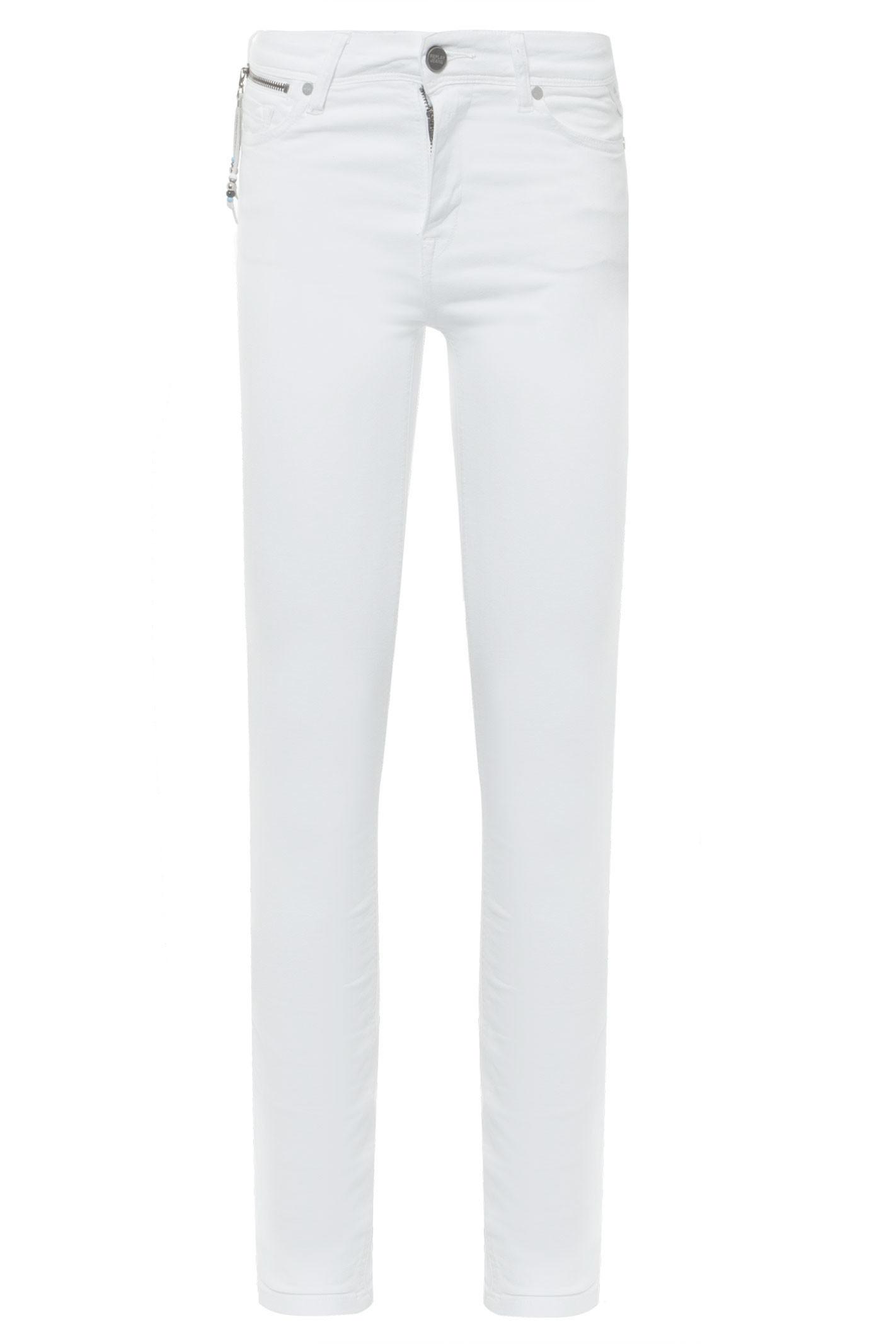 Calça Jeans Luz Skinny - Branco