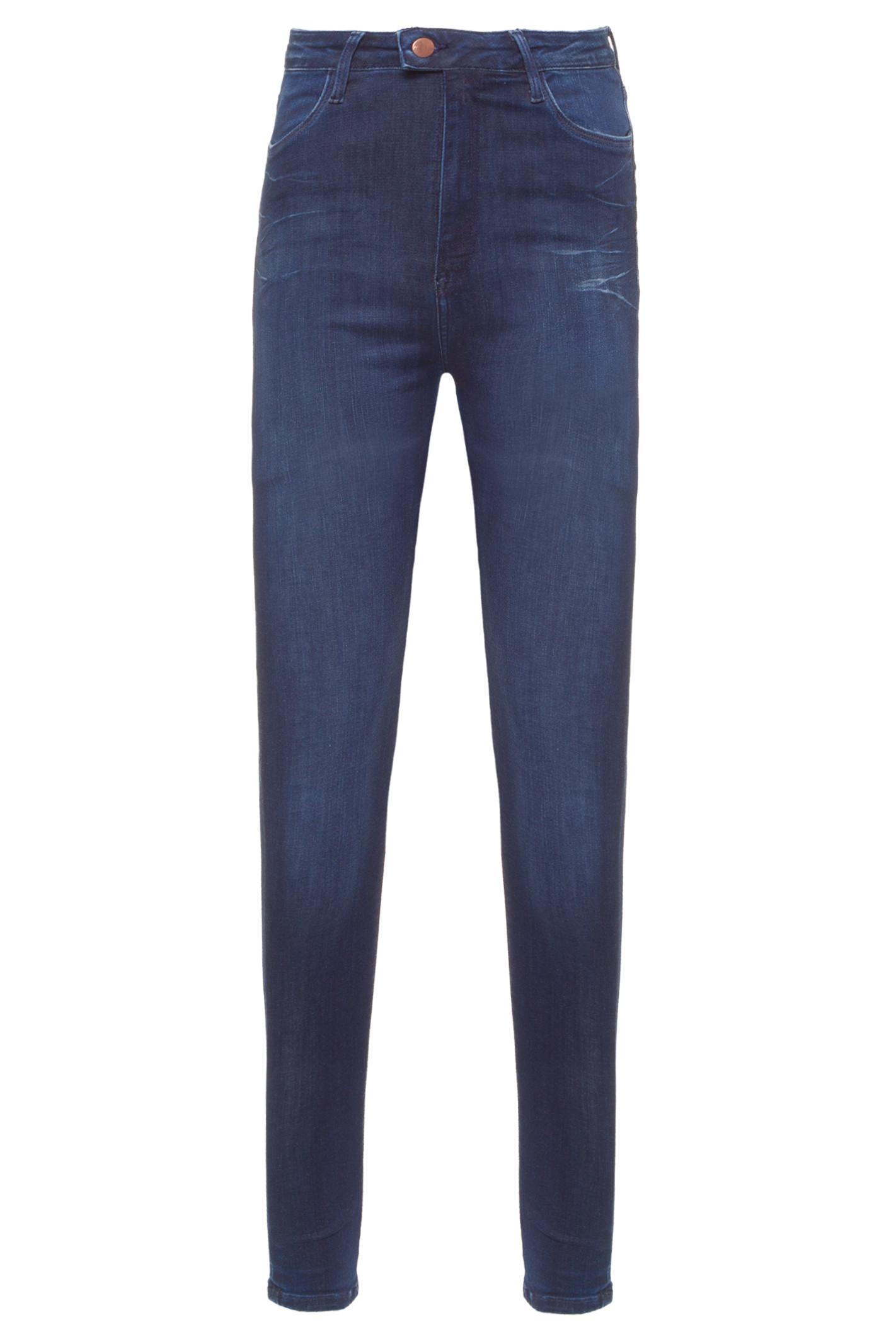 Calça Jeans Super Skinny Hw Touch - Azul