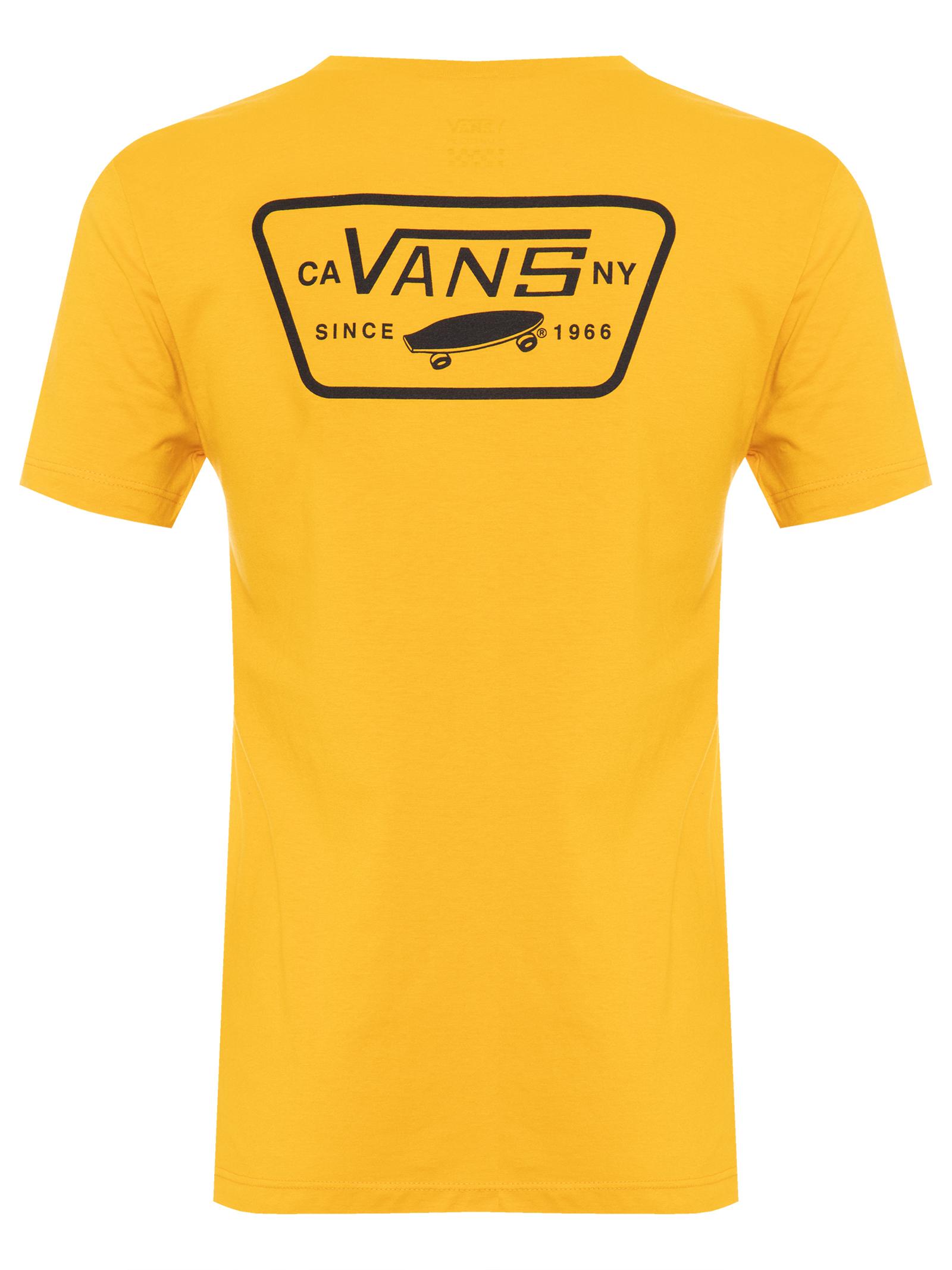 T-Shirt Full Patch Crew - Amarelo