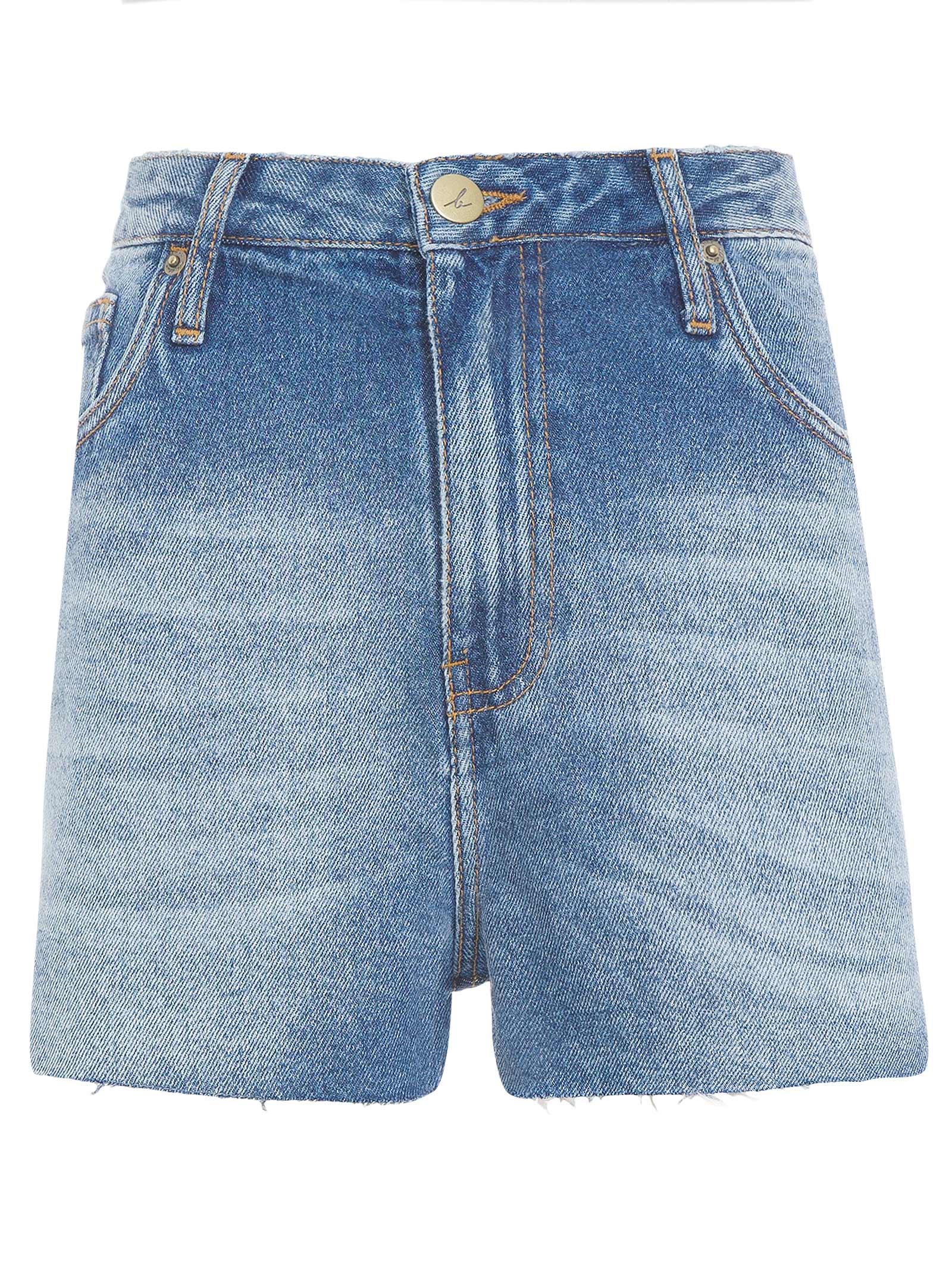Short Jeans Marine - Azul